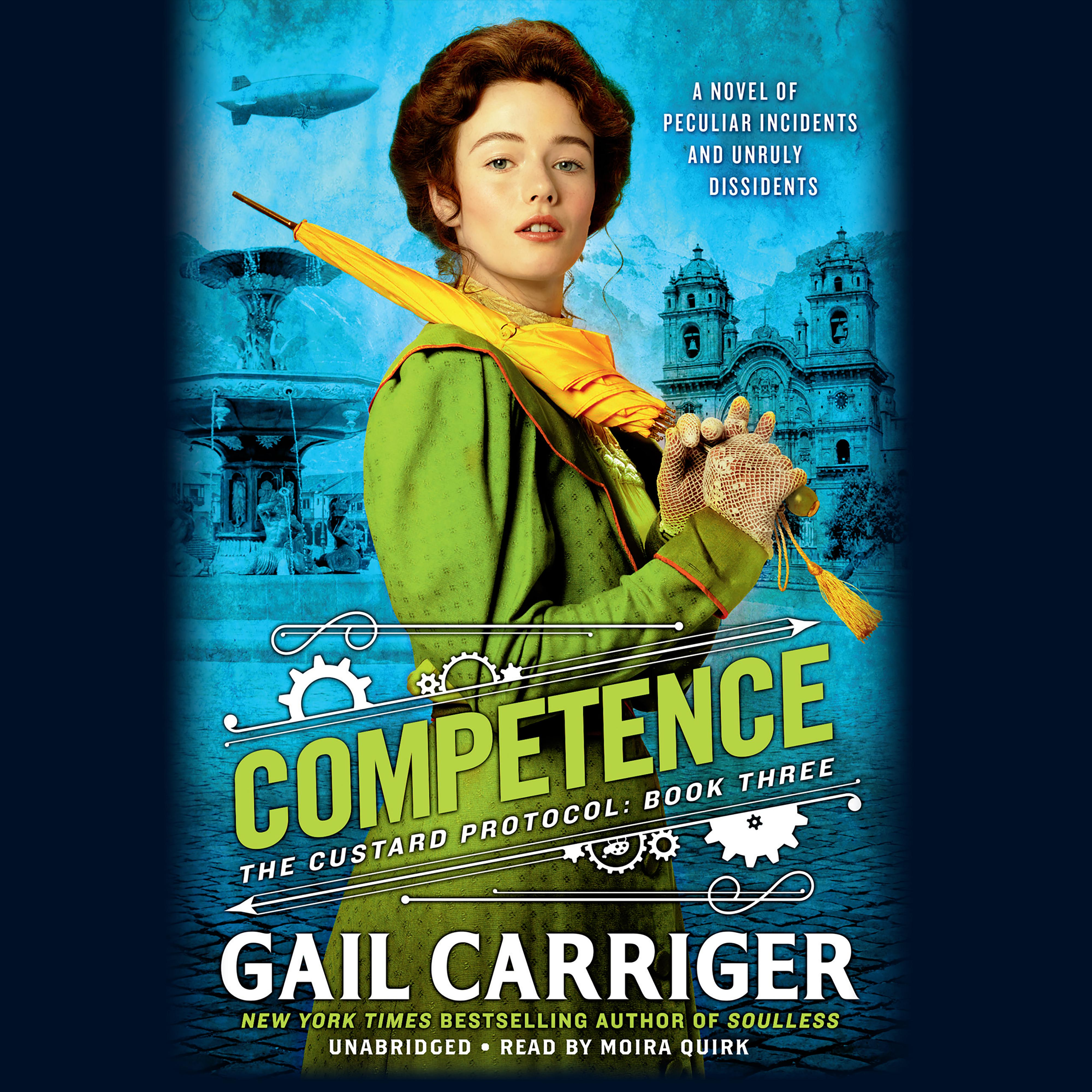 Printable Competence Audiobook Cover Art