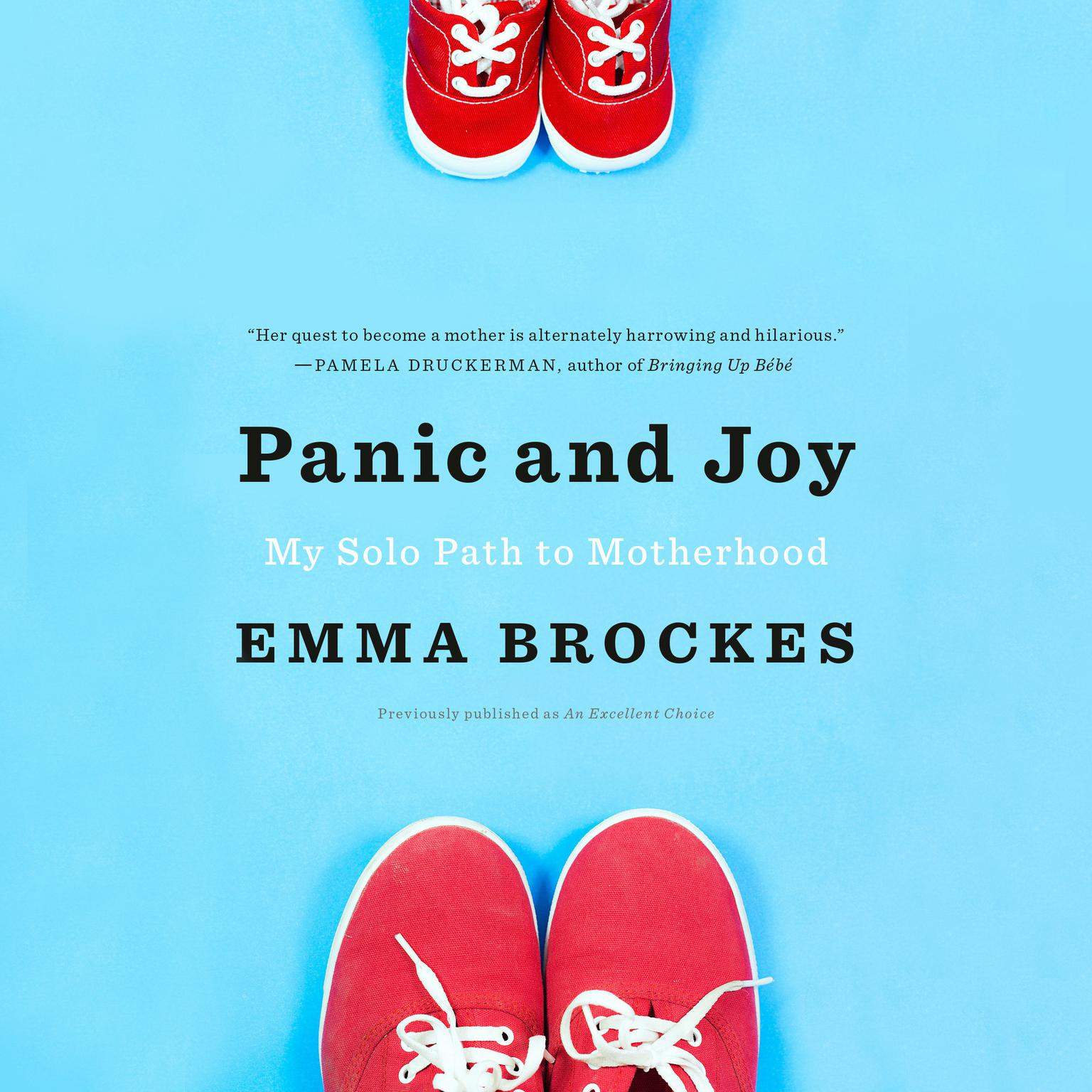 Printable An Excellent Choice: Panic and Joy on My Solo Path to Motherhood Audiobook Cover Art