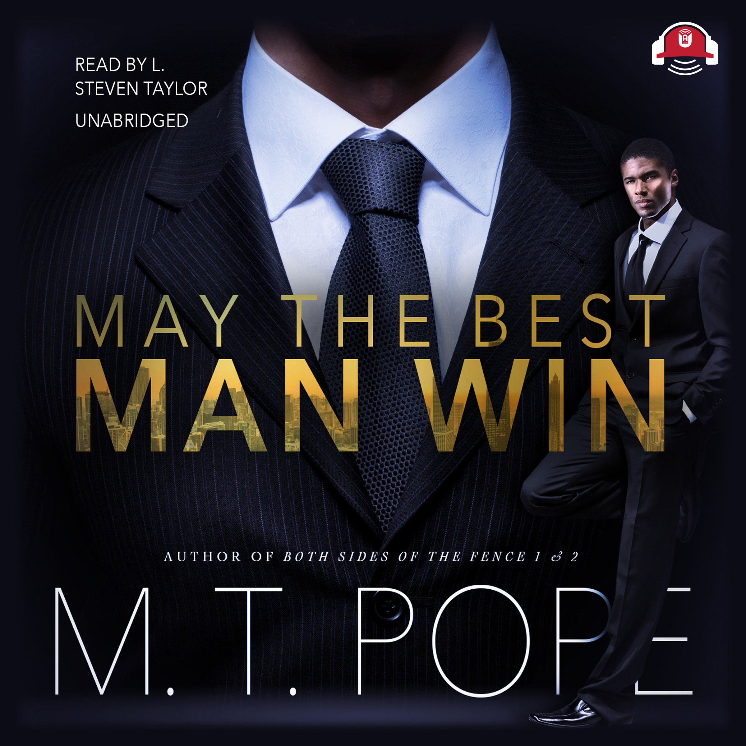 Printable May the Best Man Win Audiobook Cover Art