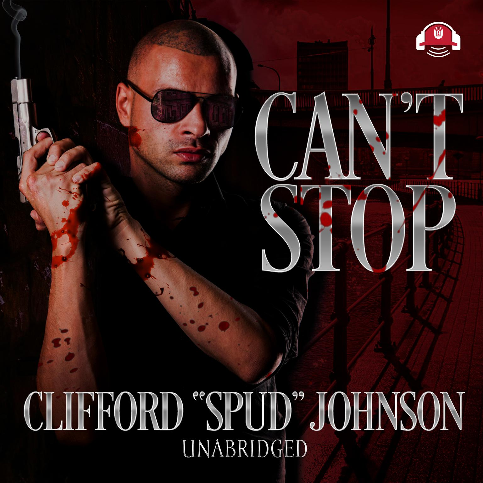 Printable Can't Stop Audiobook Cover Art