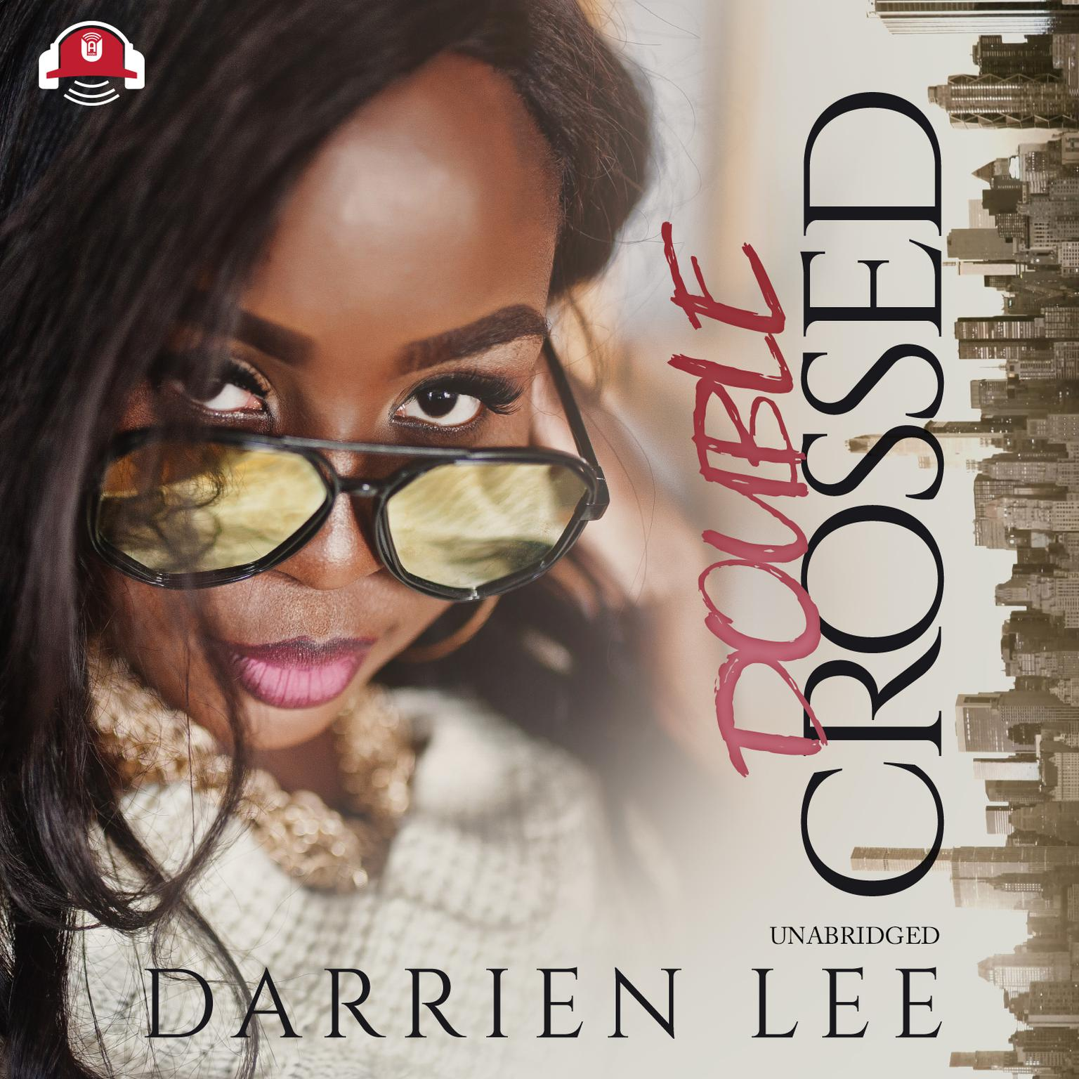 Printable Double Crossed Audiobook Cover Art