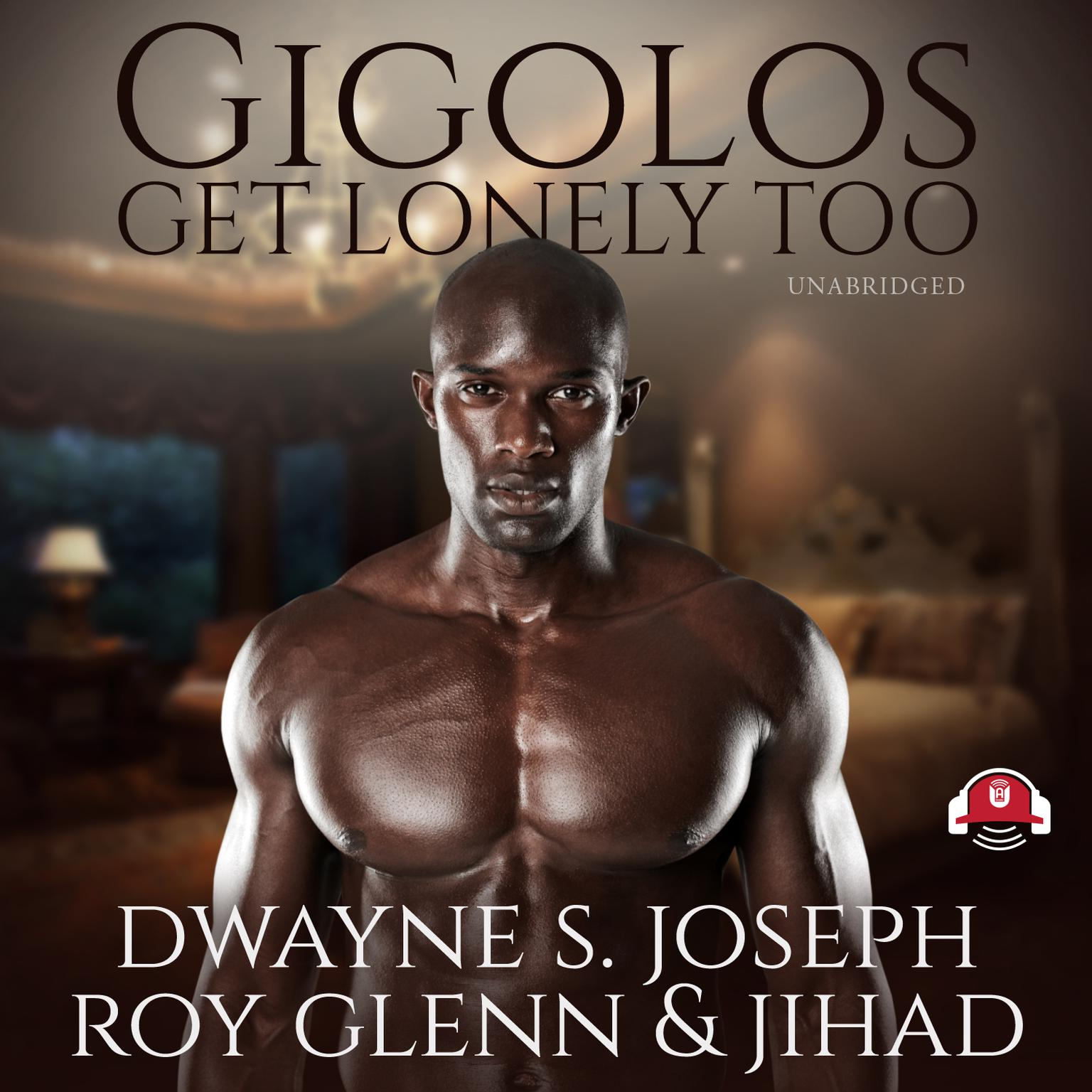 Printable Gigolos Get Lonely Too Audiobook Cover Art