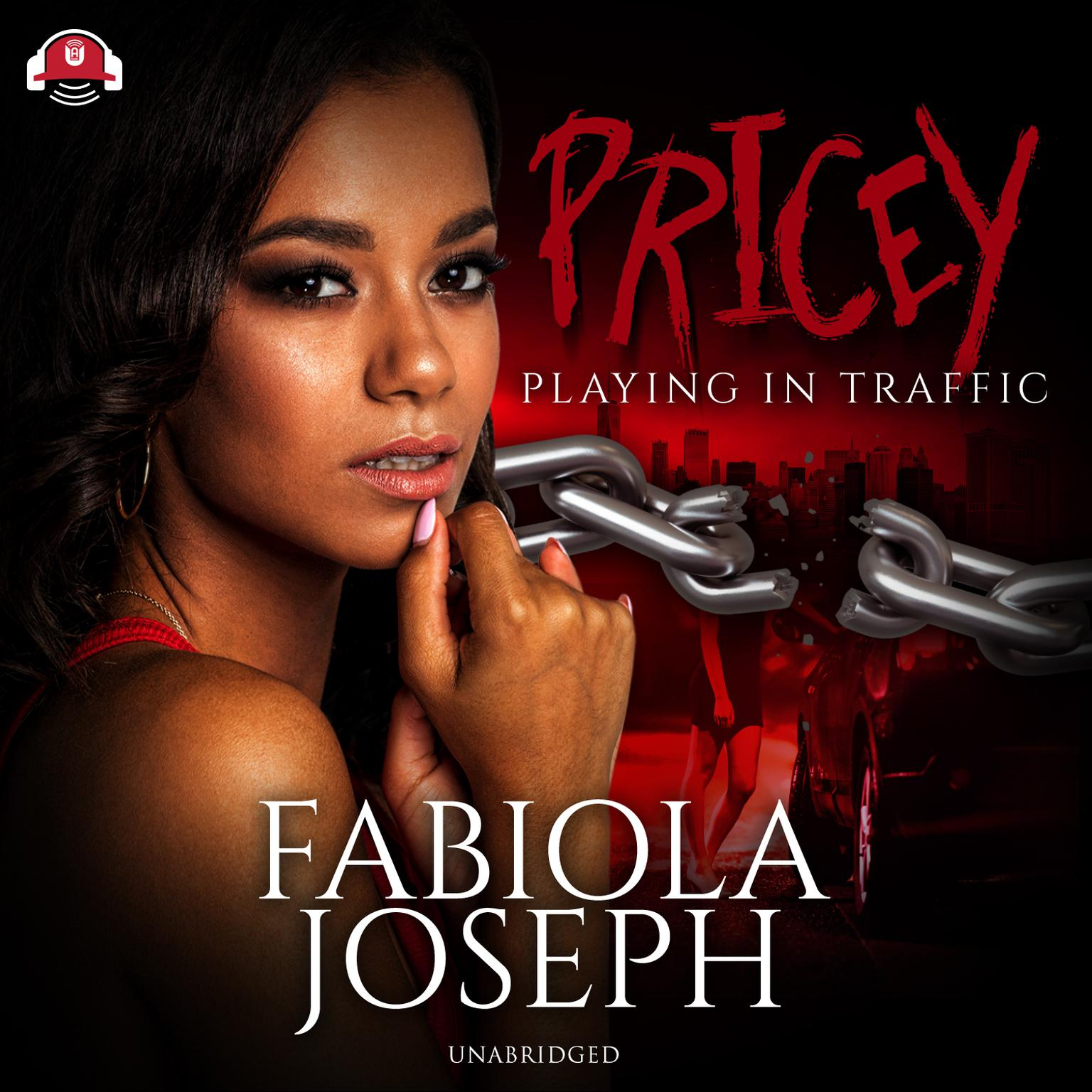 Printable Pricey: Playing in Traffic Audiobook Cover Art