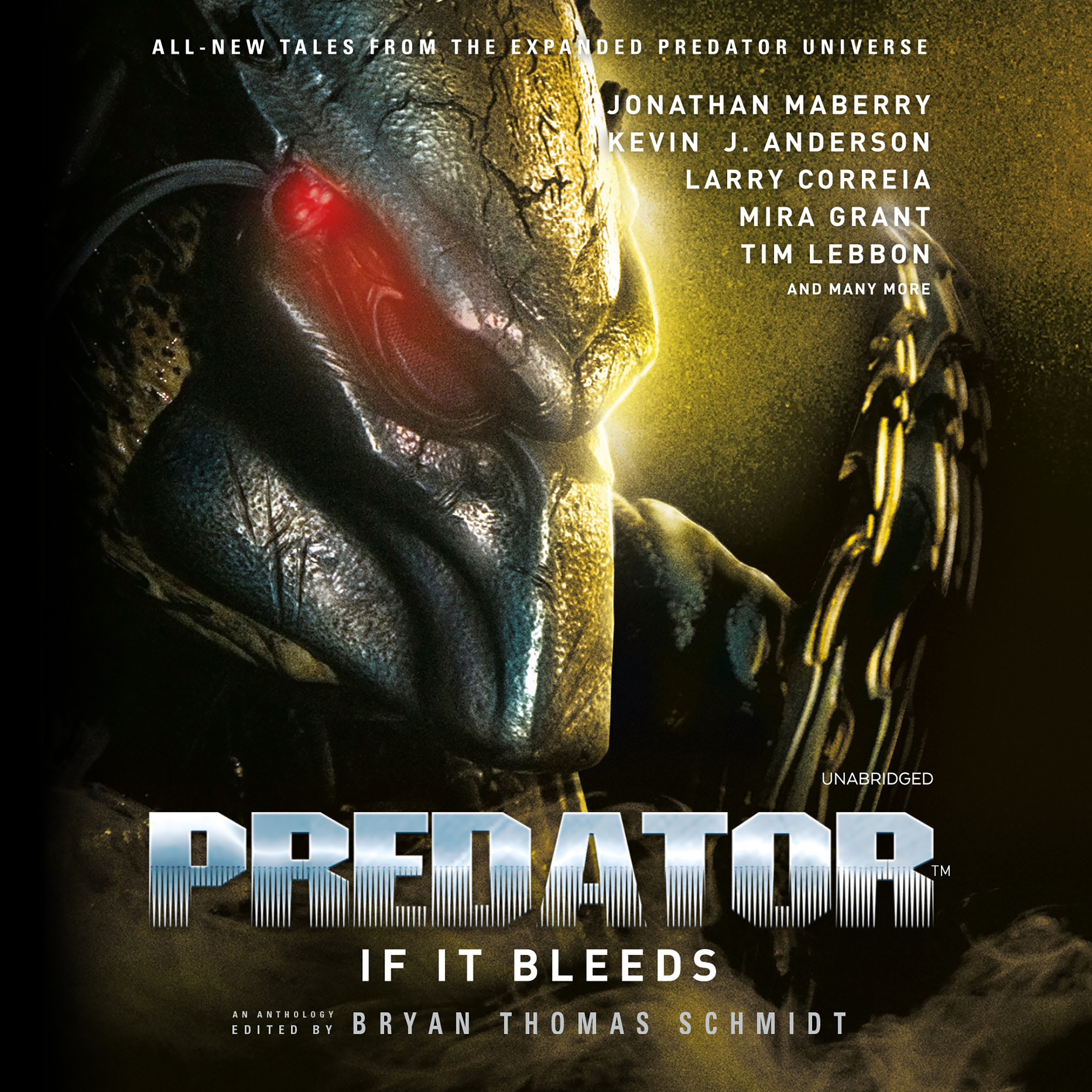 Printable Predator: If It Bleeds Audiobook Cover Art