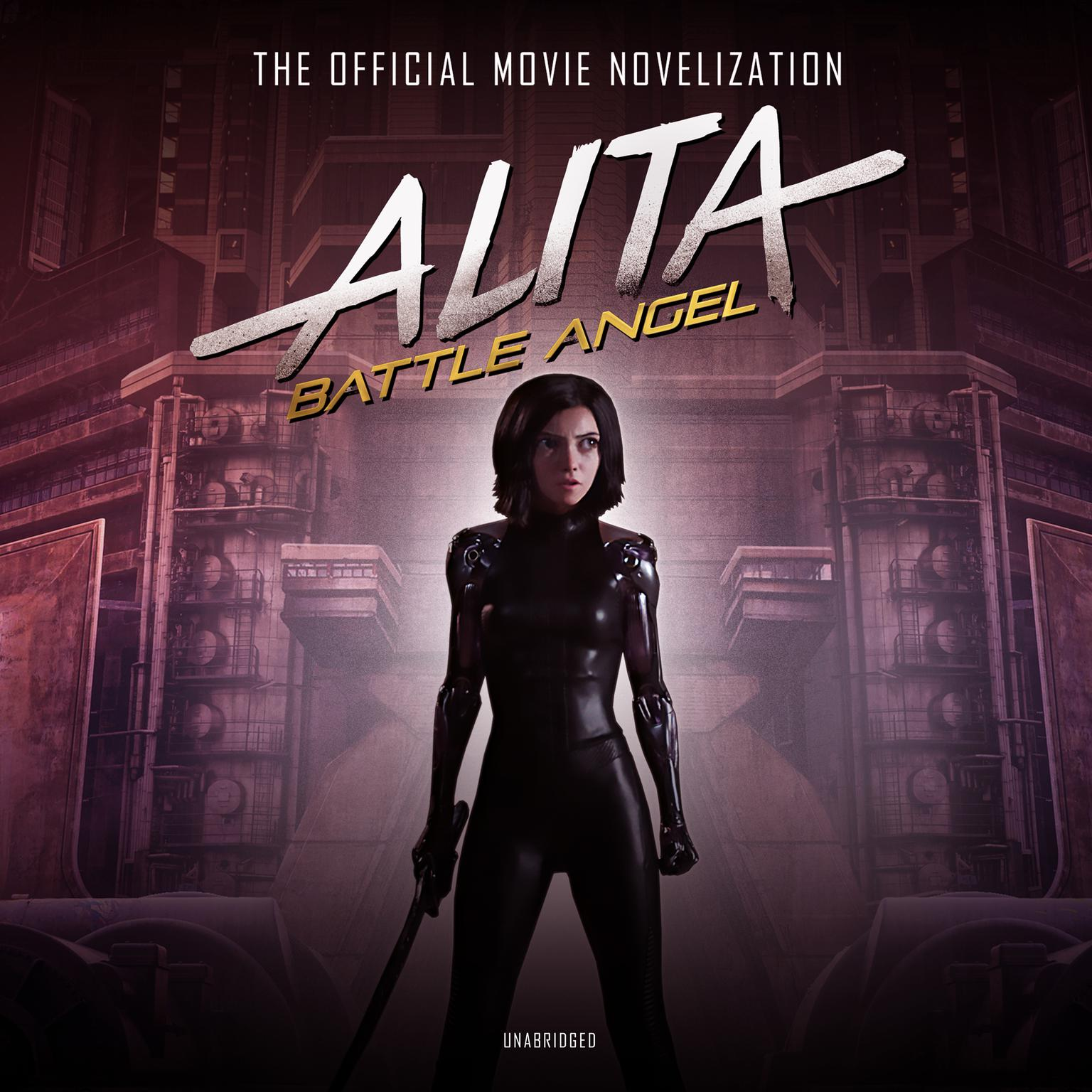 Printable Alita: Battle Angel: The Official Movie Novelization Audiobook Cover Art