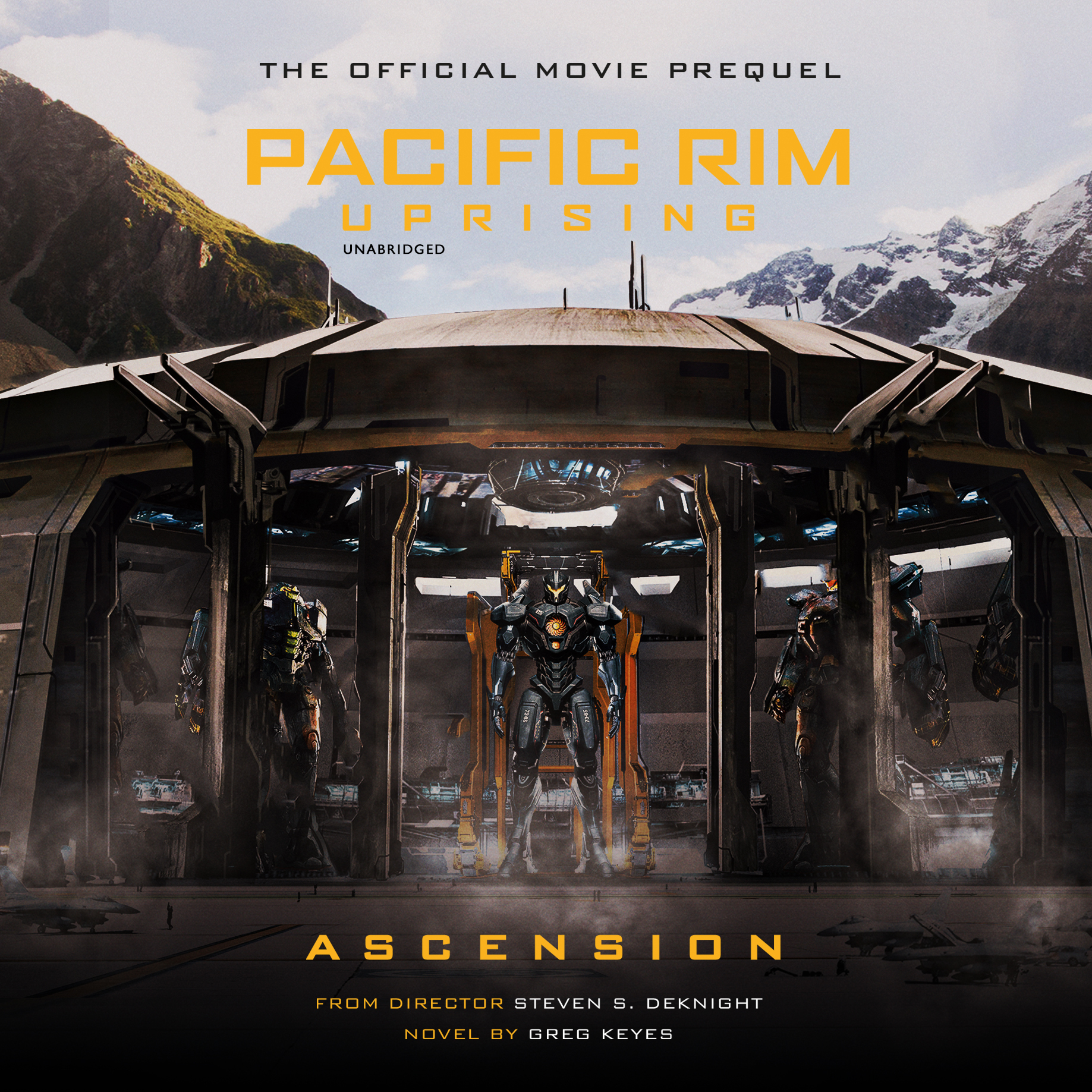 Printable Pacific Rim Uprising: Ascension: The Official Movie Prequel Audiobook Cover Art