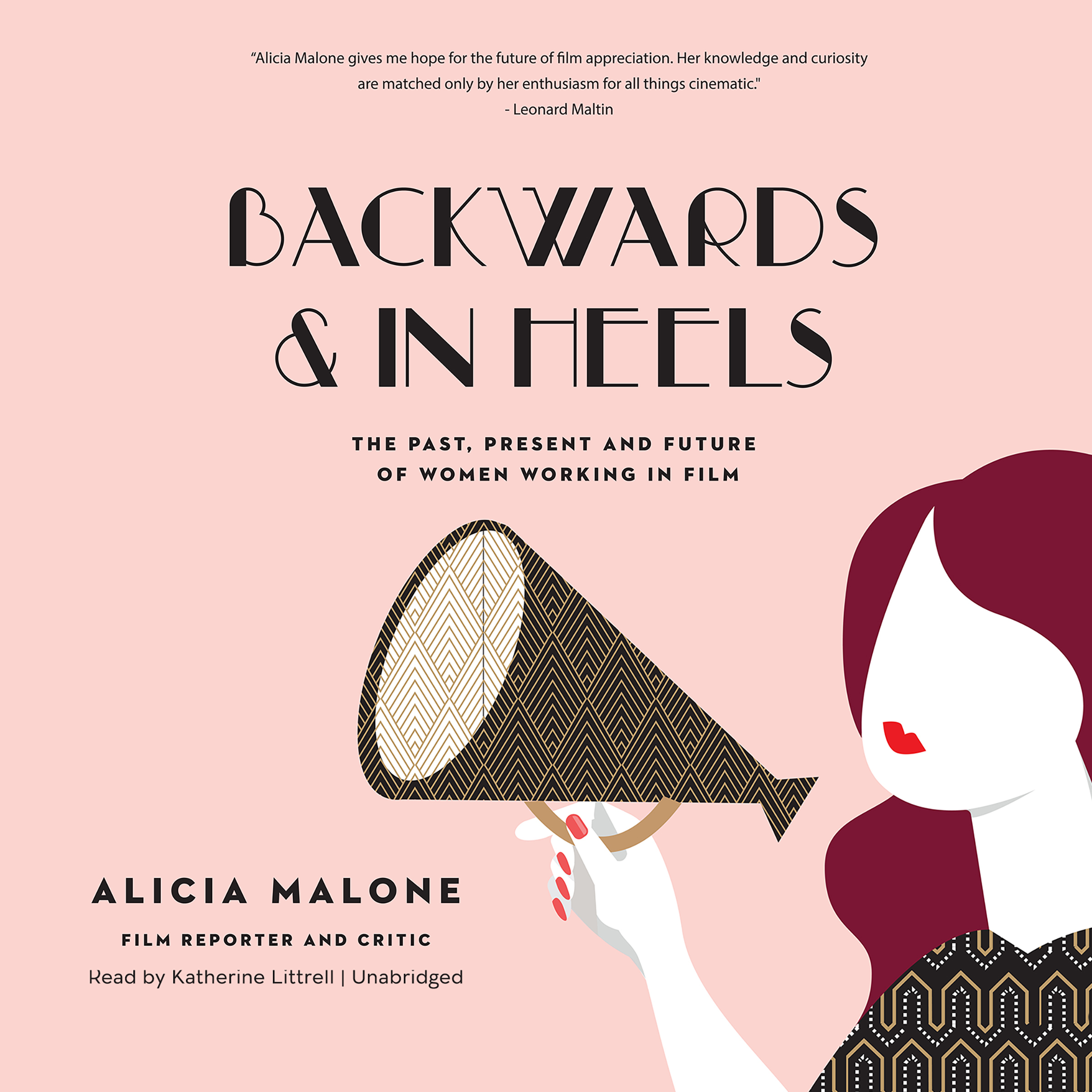 Printable Backwards and in Heels: The Past, Present, and Future of Women Working in Film Audiobook Cover Art