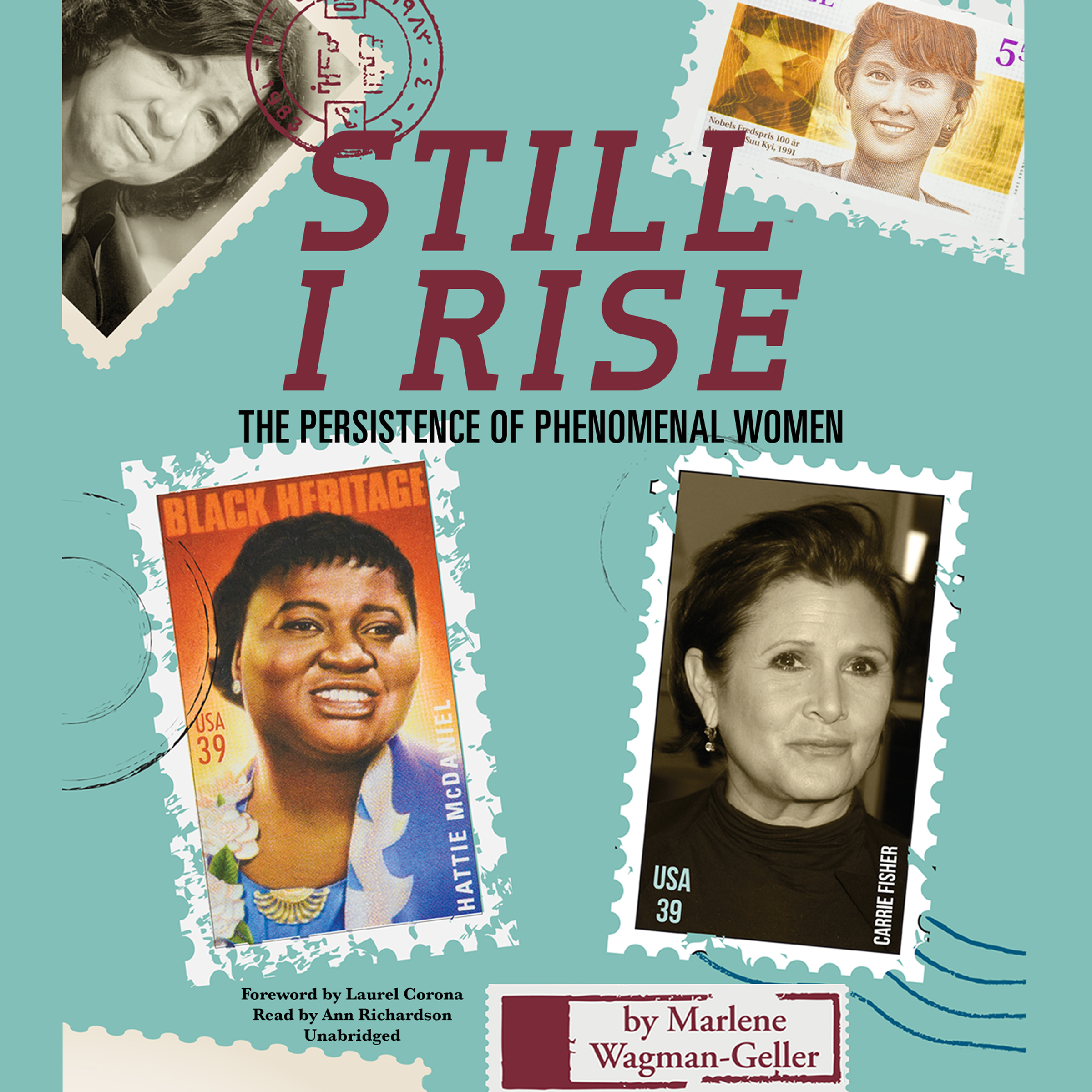 Printable Still I Rise: The Persistence of Phenomenal Women Audiobook Cover Art