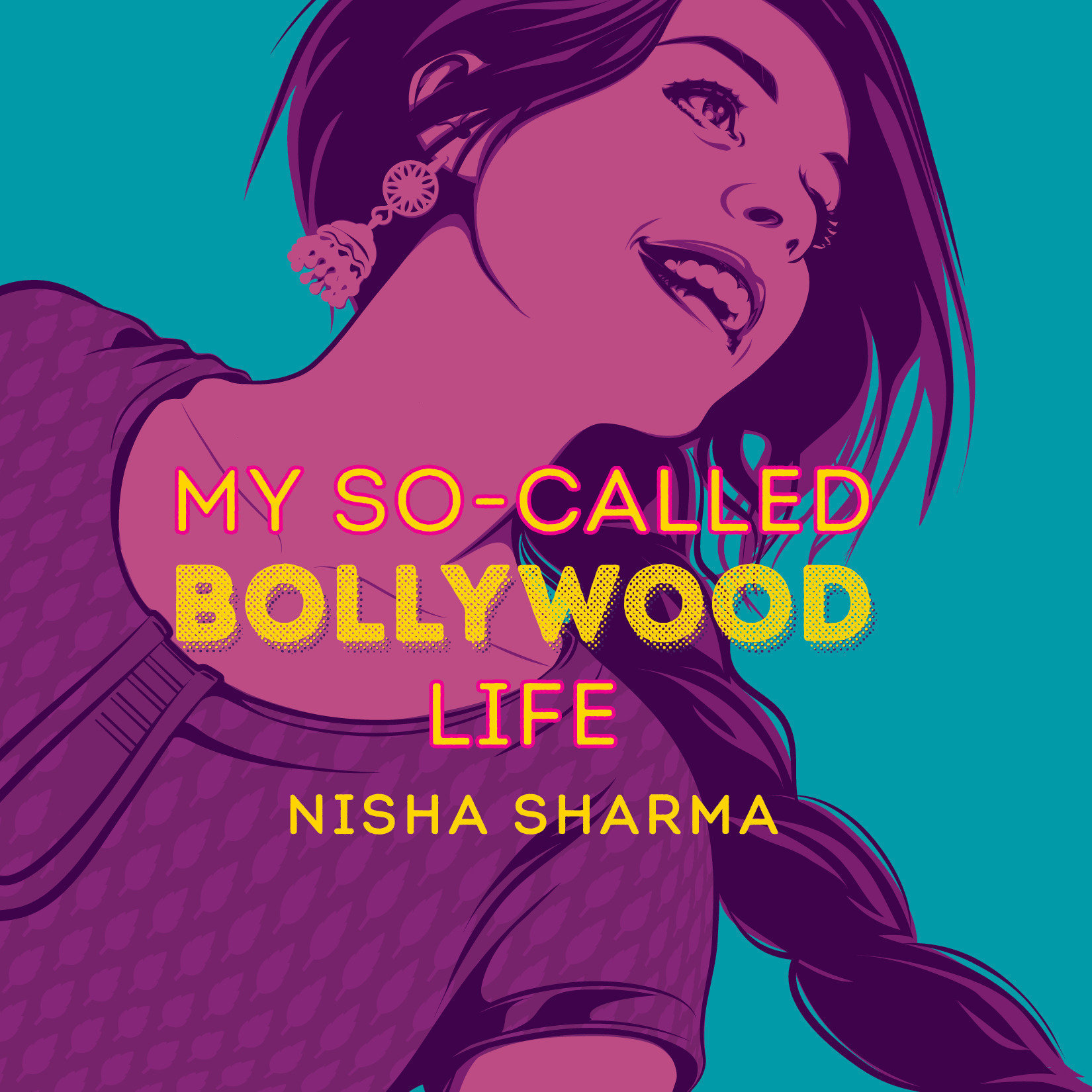 Printable My So-Called Bollywood Life Audiobook Cover Art