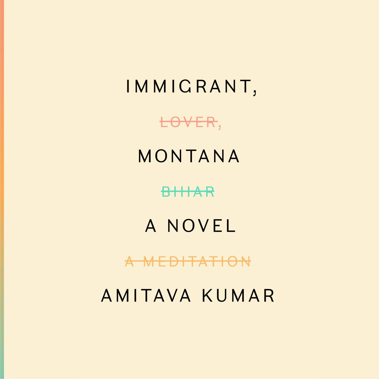Printable Immigrant, Montana: A novel Audiobook Cover Art