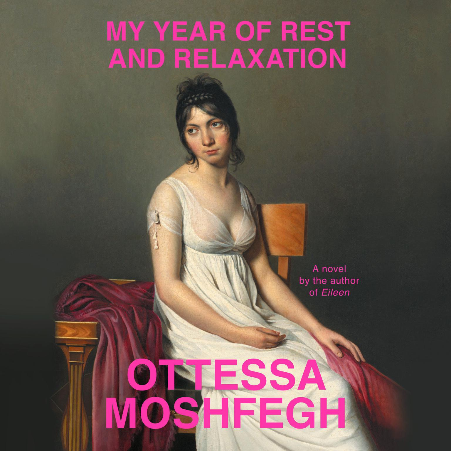 Printable My Year of Rest and Relaxation Audiobook Cover Art