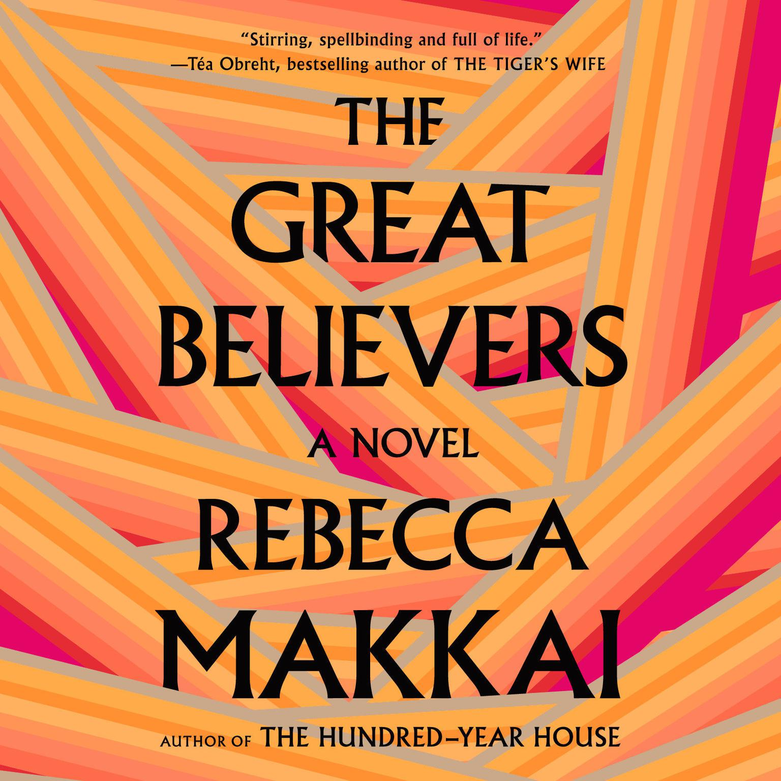 Printable The Great Believers Audiobook Cover Art