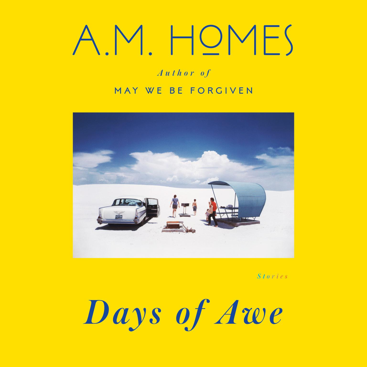 Printable Days of Awe: Stories Audiobook Cover Art