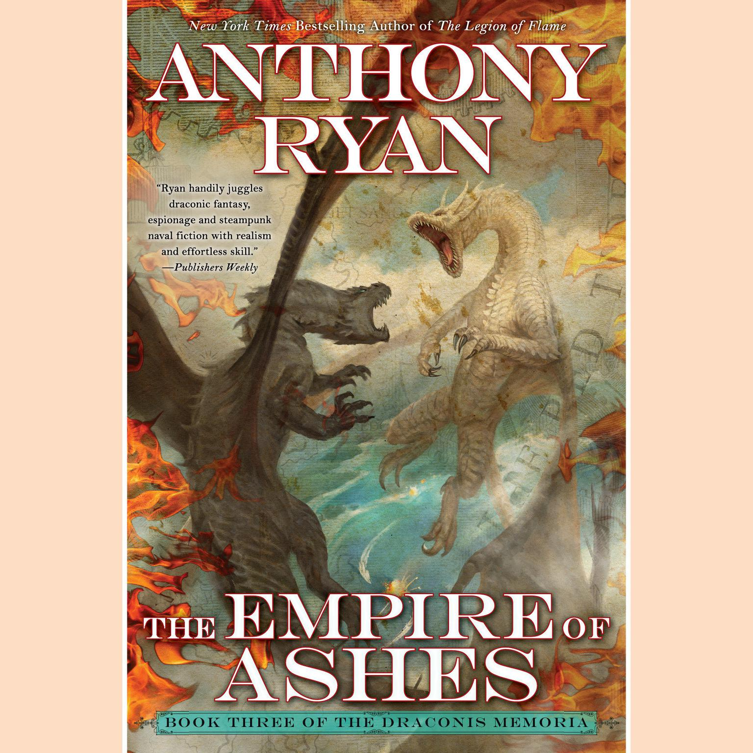 Printable The Empire of Ashes Audiobook Cover Art