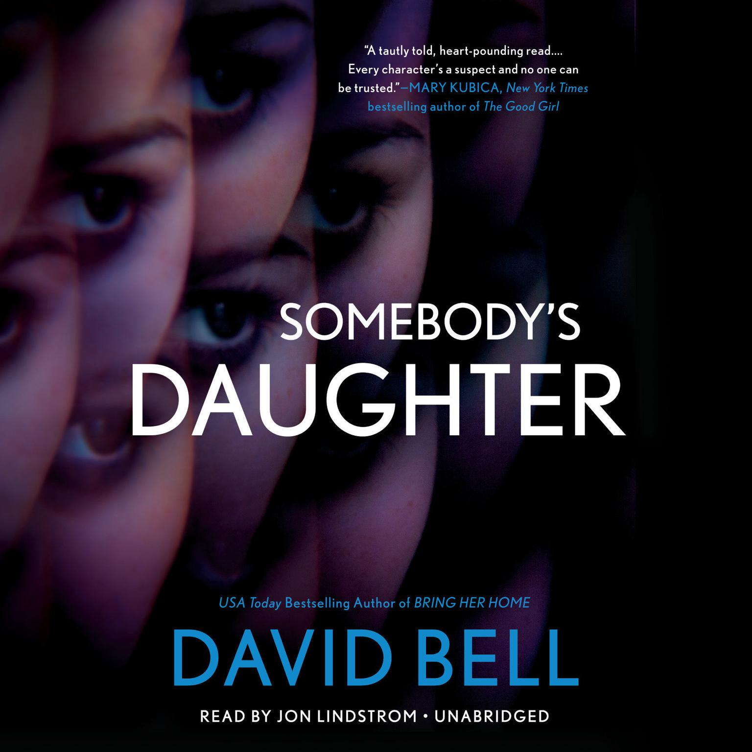 Printable Somebody's Daughter Audiobook Cover Art