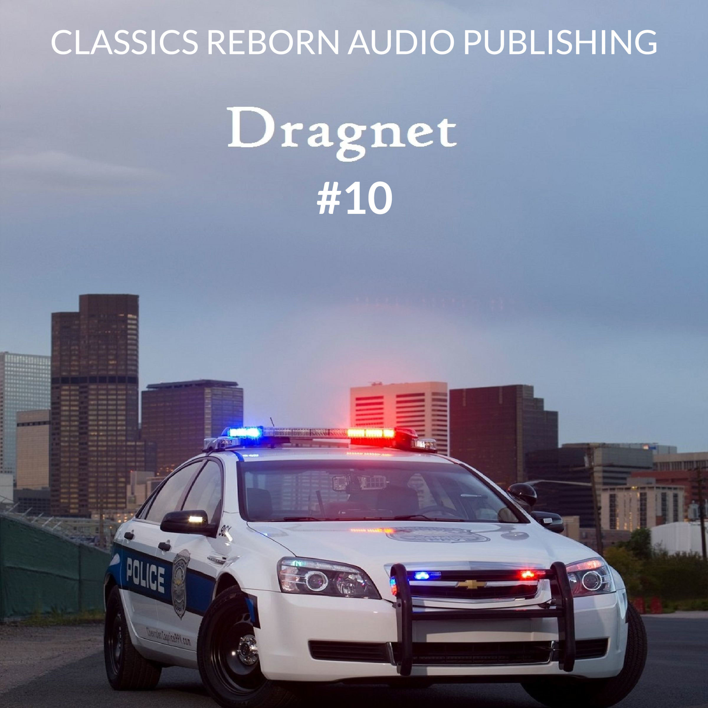 Printable Detective: Dragnet #10 Audiobook Cover Art