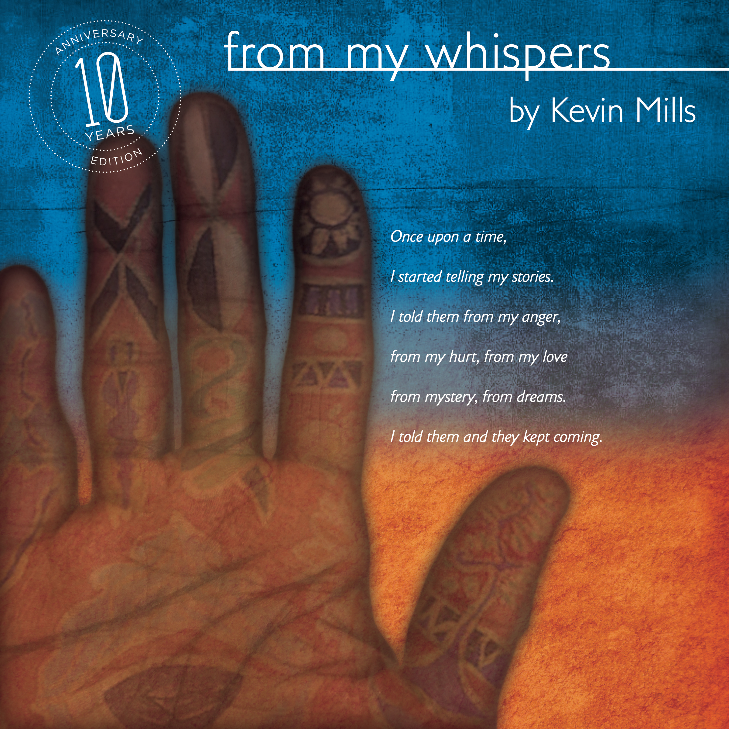 Printable From My Whispers Audiobook Cover Art