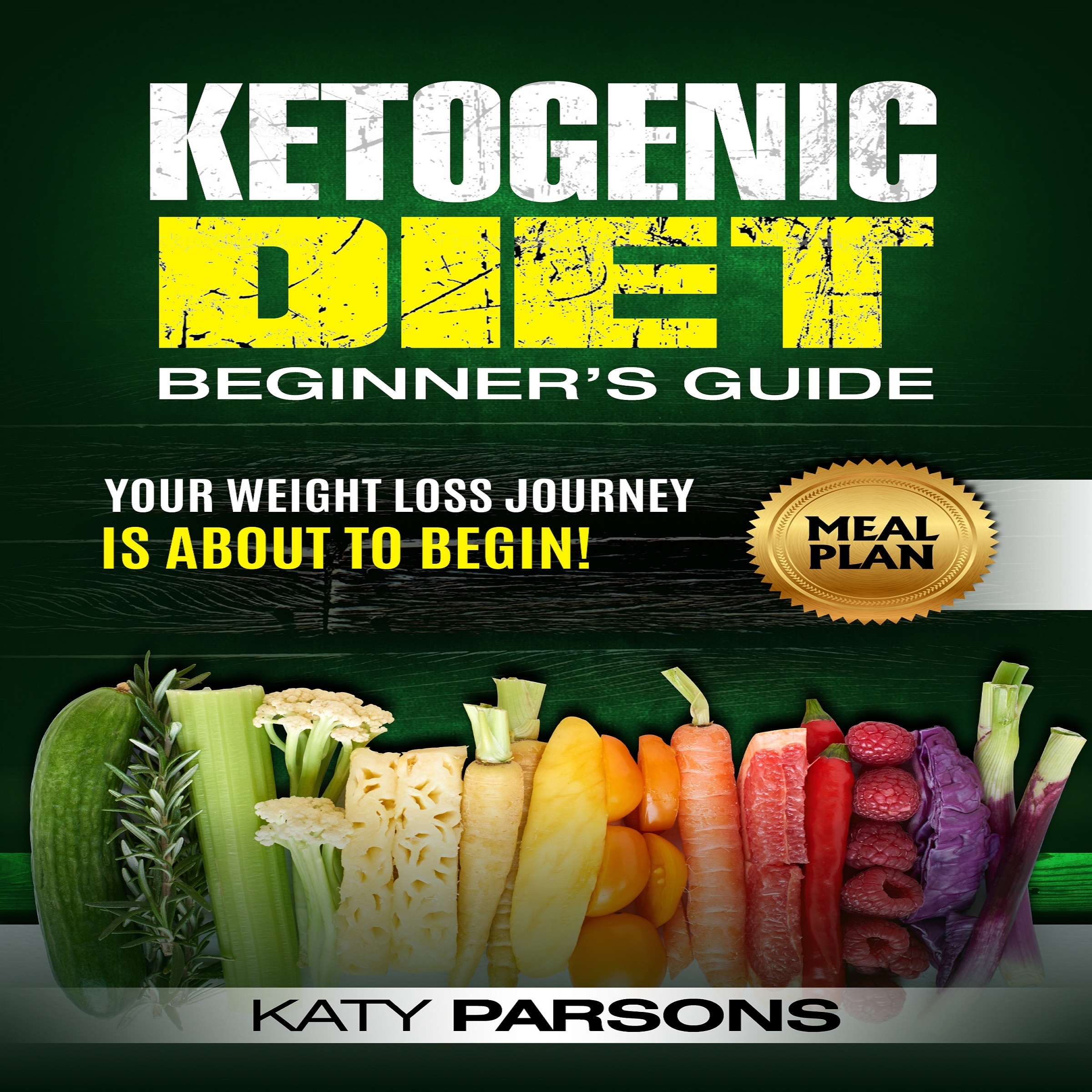 Printable Ketogenic Diet Beginner's Guide: Your Weight Loss Journey is About to Begin! Audiobook Cover Art