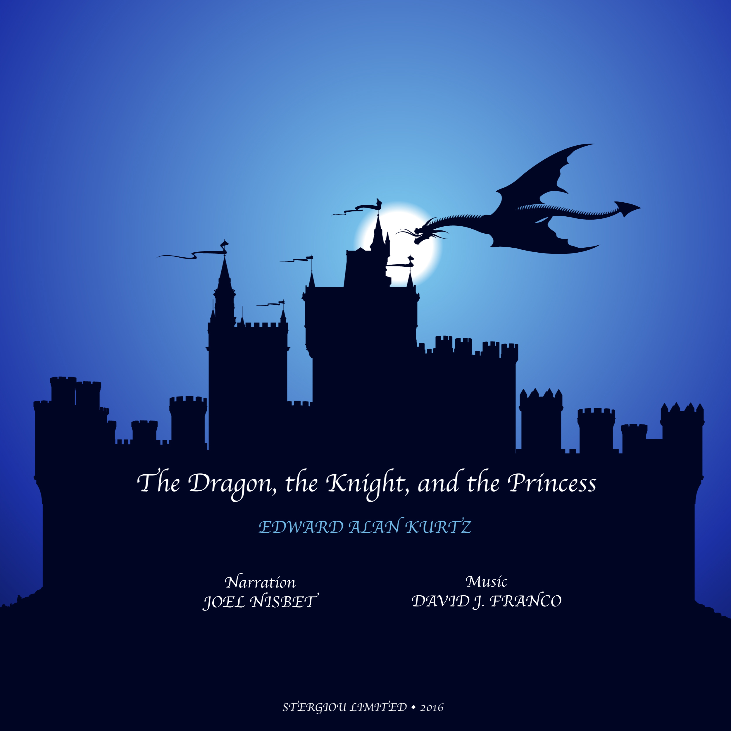 Printable The Dragon, the Knight, and the Princess Audiobook Cover Art