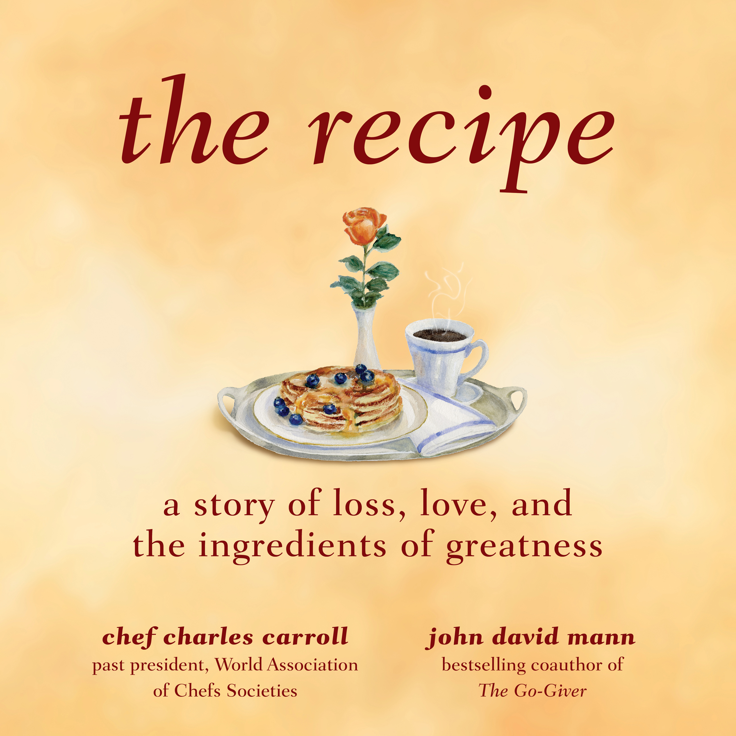 Printable The Recipe: A Story of Loss, Love, and the Ingredients of Greatness Audiobook Cover Art