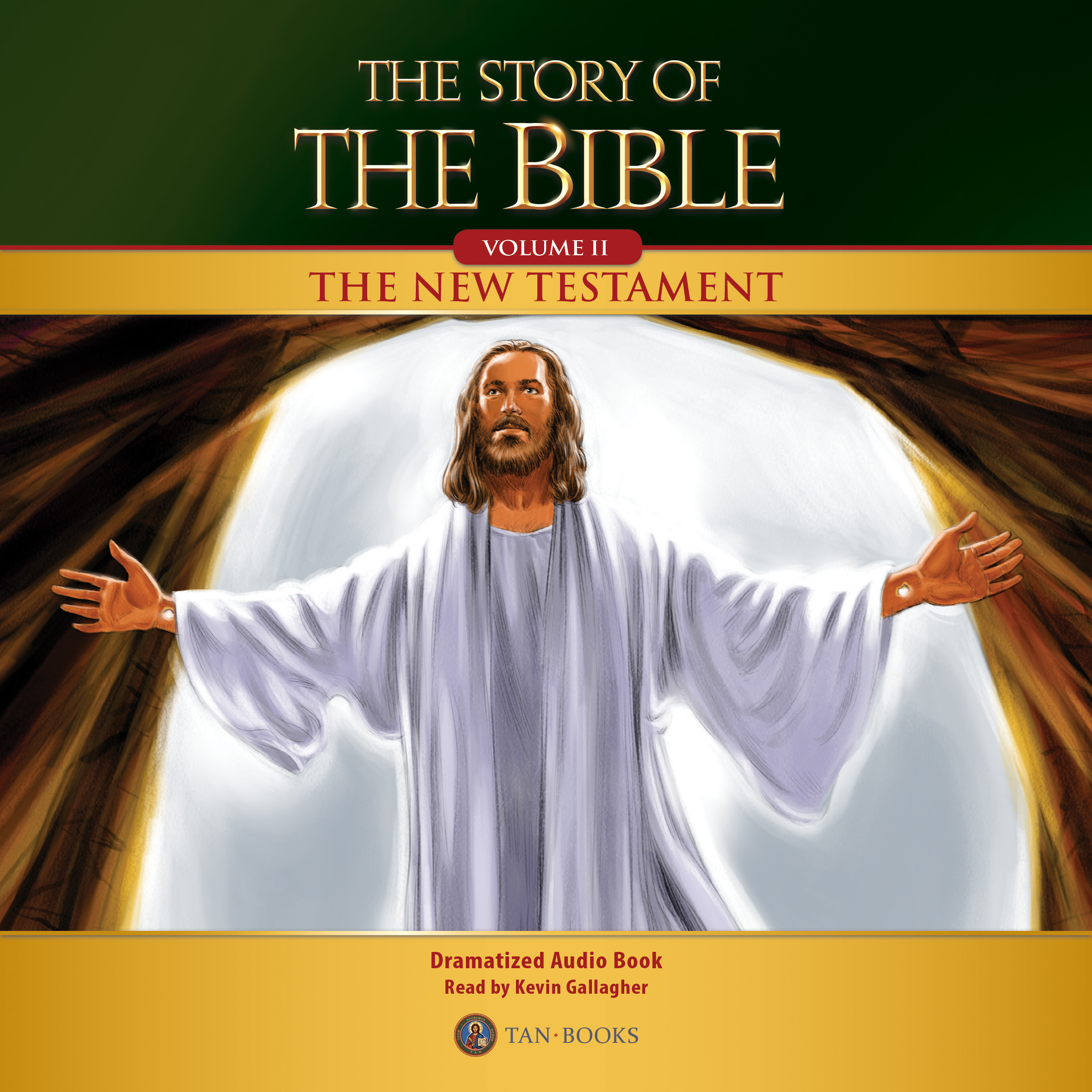 Printable The Story of the Bible Volume 2: The New Testament Audiobook Cover Art