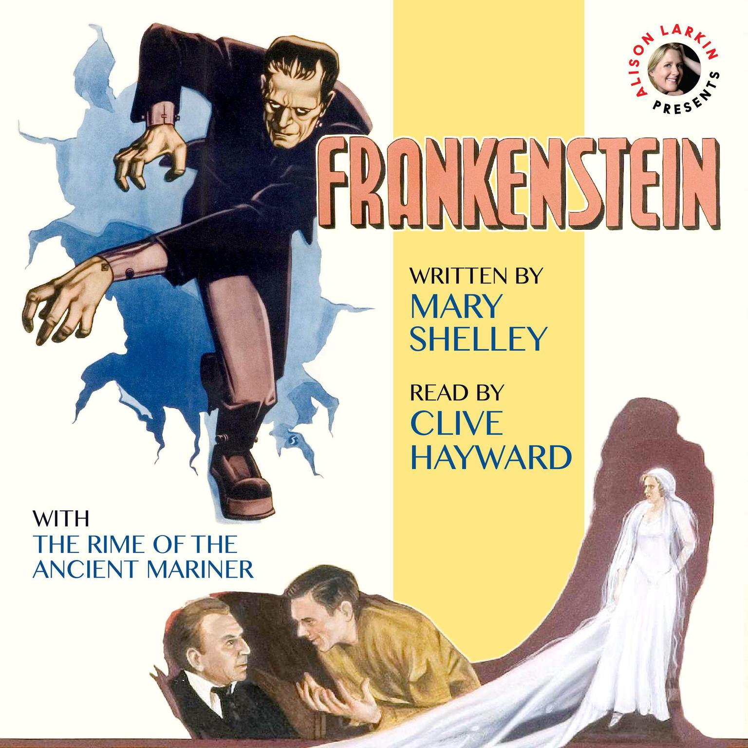 Printable Frankenstein with The Rime of the Ancient Mariner Audiobook Cover Art