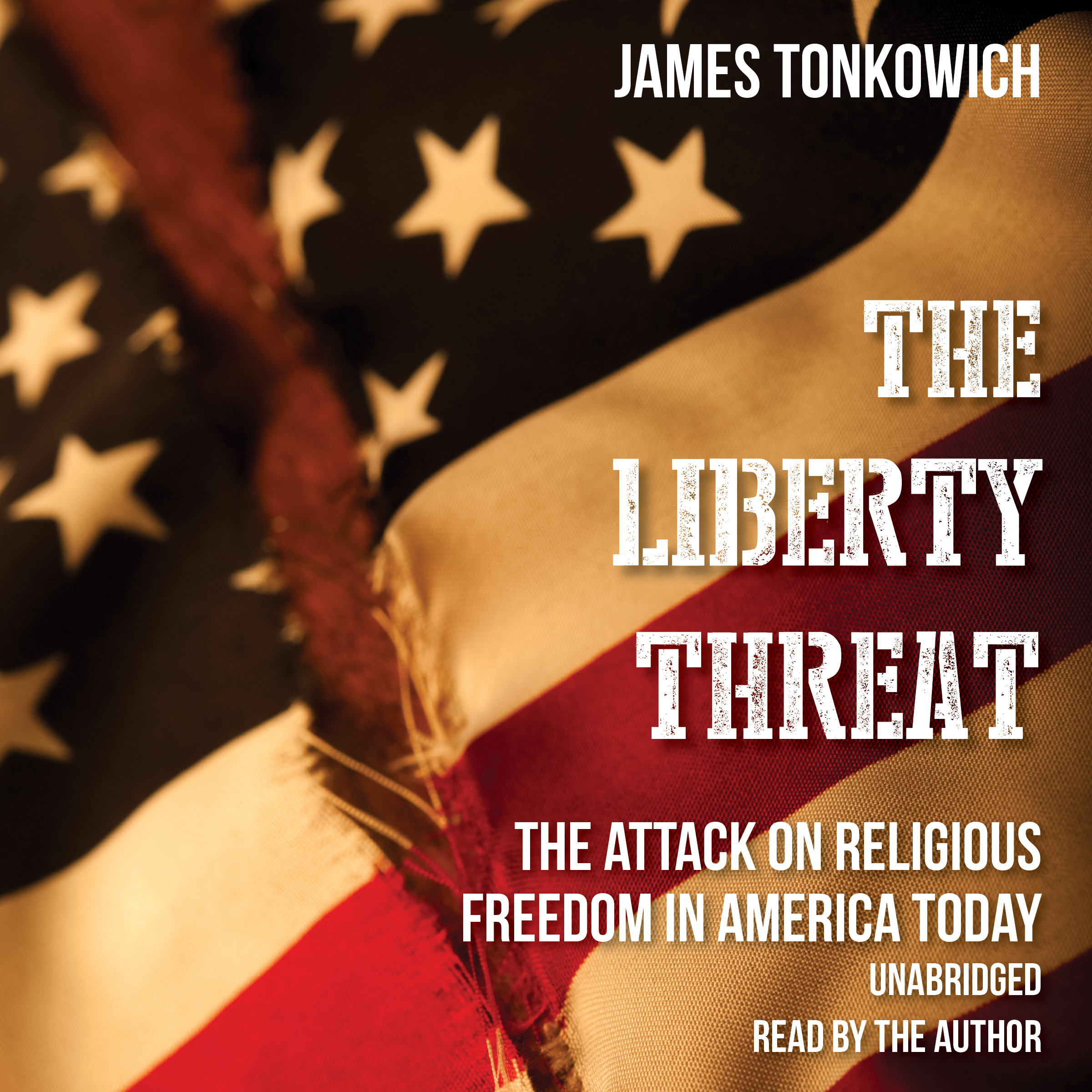Printable The Liberty Threat: The Attack on Religious Freedom in America Today Audiobook Cover Art