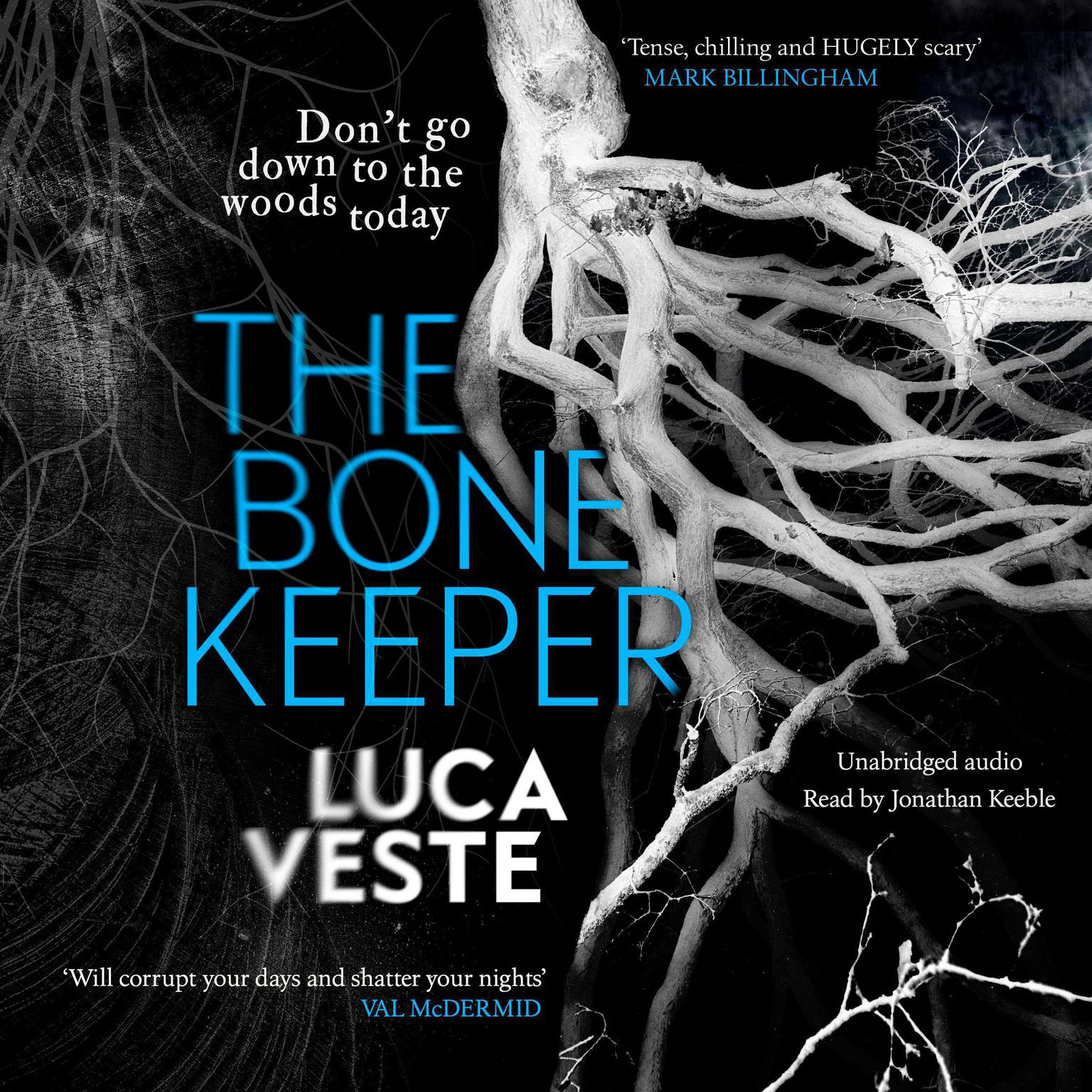 Printable The Bone Keeper: An unputdownable thriller; you'll need to sleep with the lights on Audiobook Cover Art