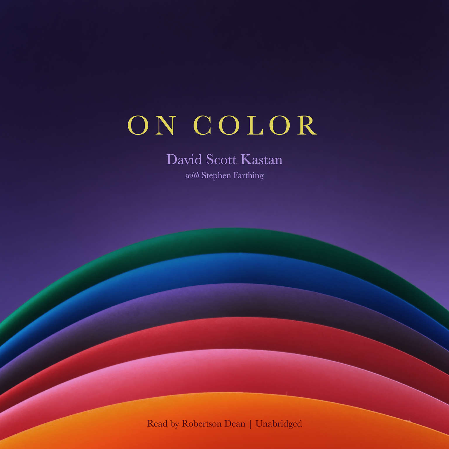 On Color Audiobook, by David Scott Kastan