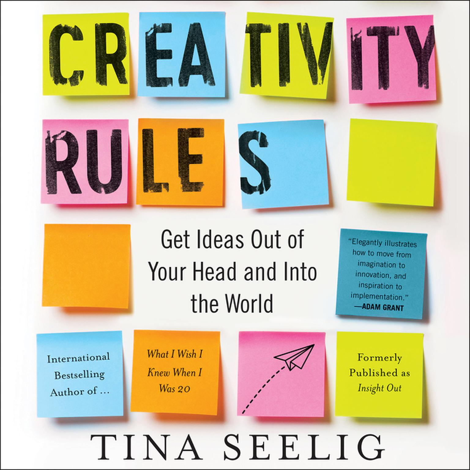 Printable Creativity Rules: Getting Ideas Out of Your Head and into the World Audiobook Cover Art