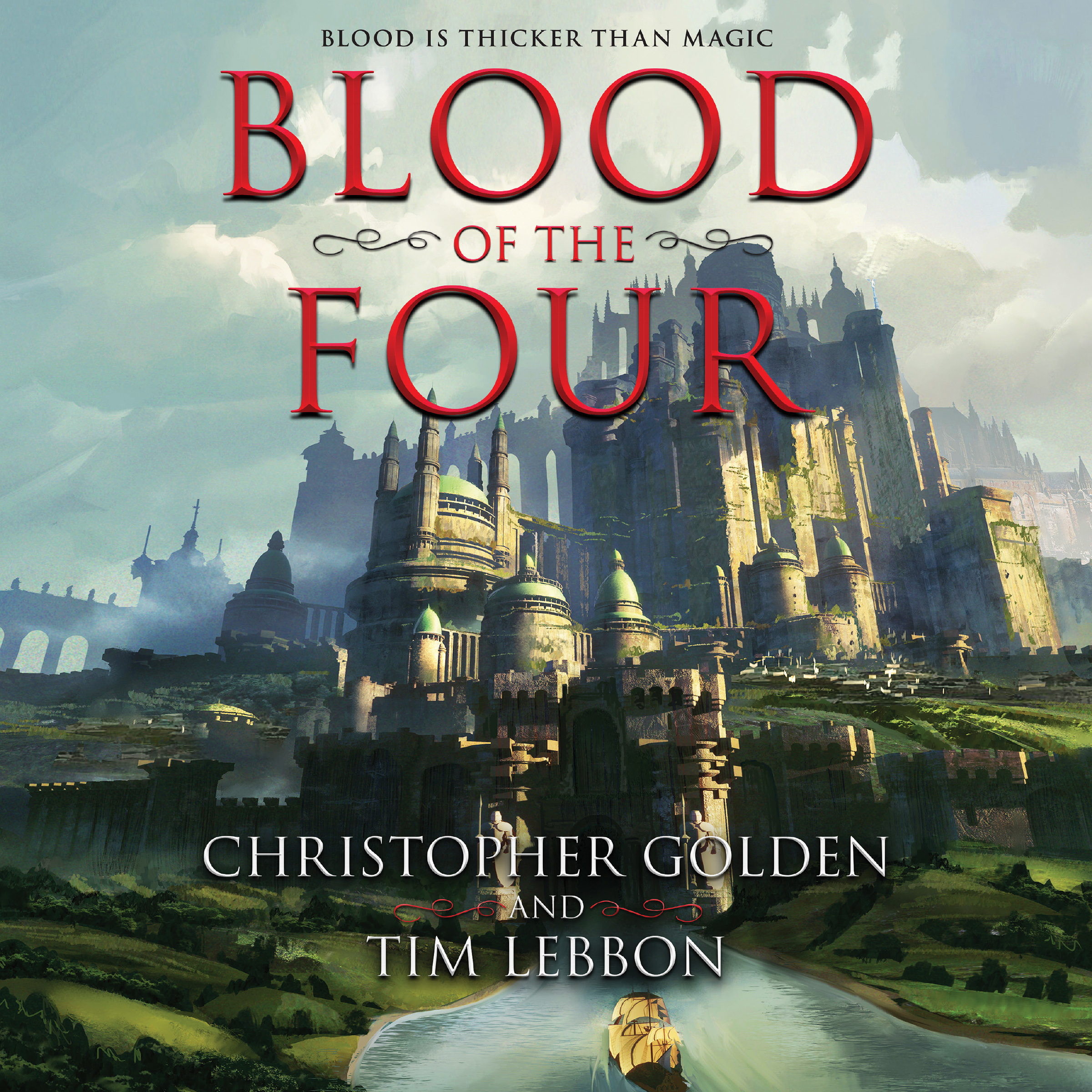 Printable Blood of the Four Audiobook Cover Art