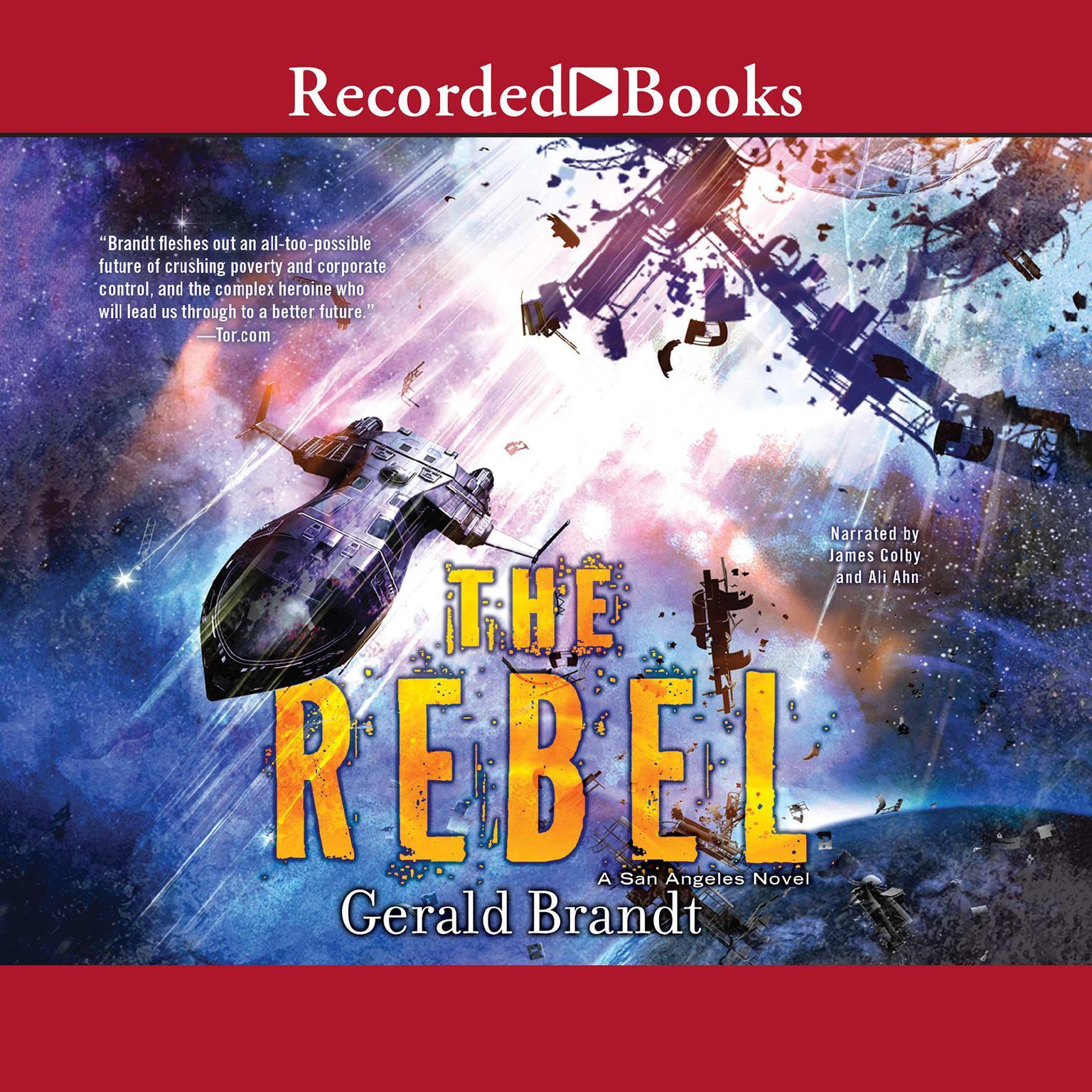 Printable The Rebel Audiobook Cover Art
