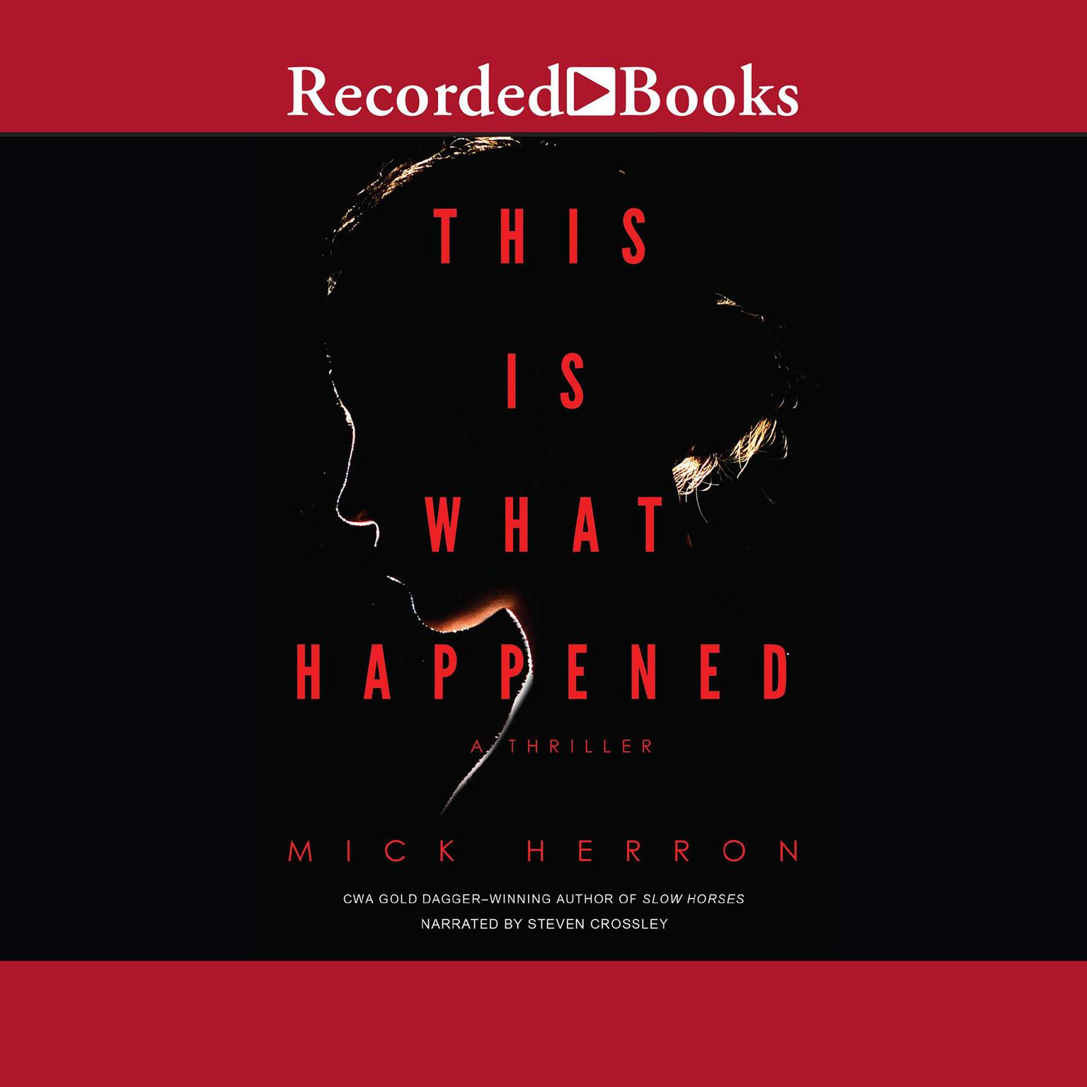 Printable This Is What Happened Audiobook Cover Art