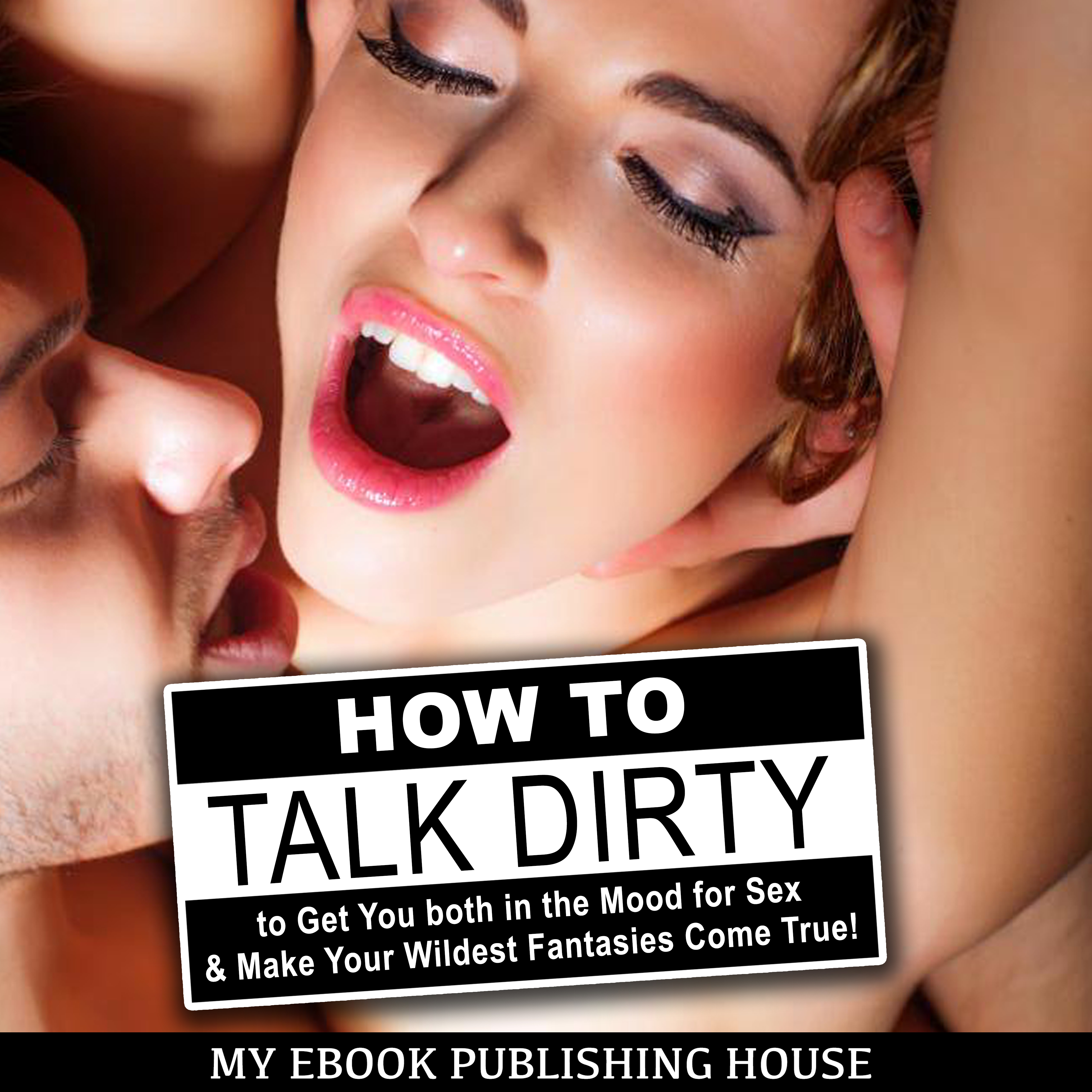 Printable How to Talk Dirty to Get You both in the Mood for Sex & Make Your Wildest Fantasies Come True! Audiobook Cover Art