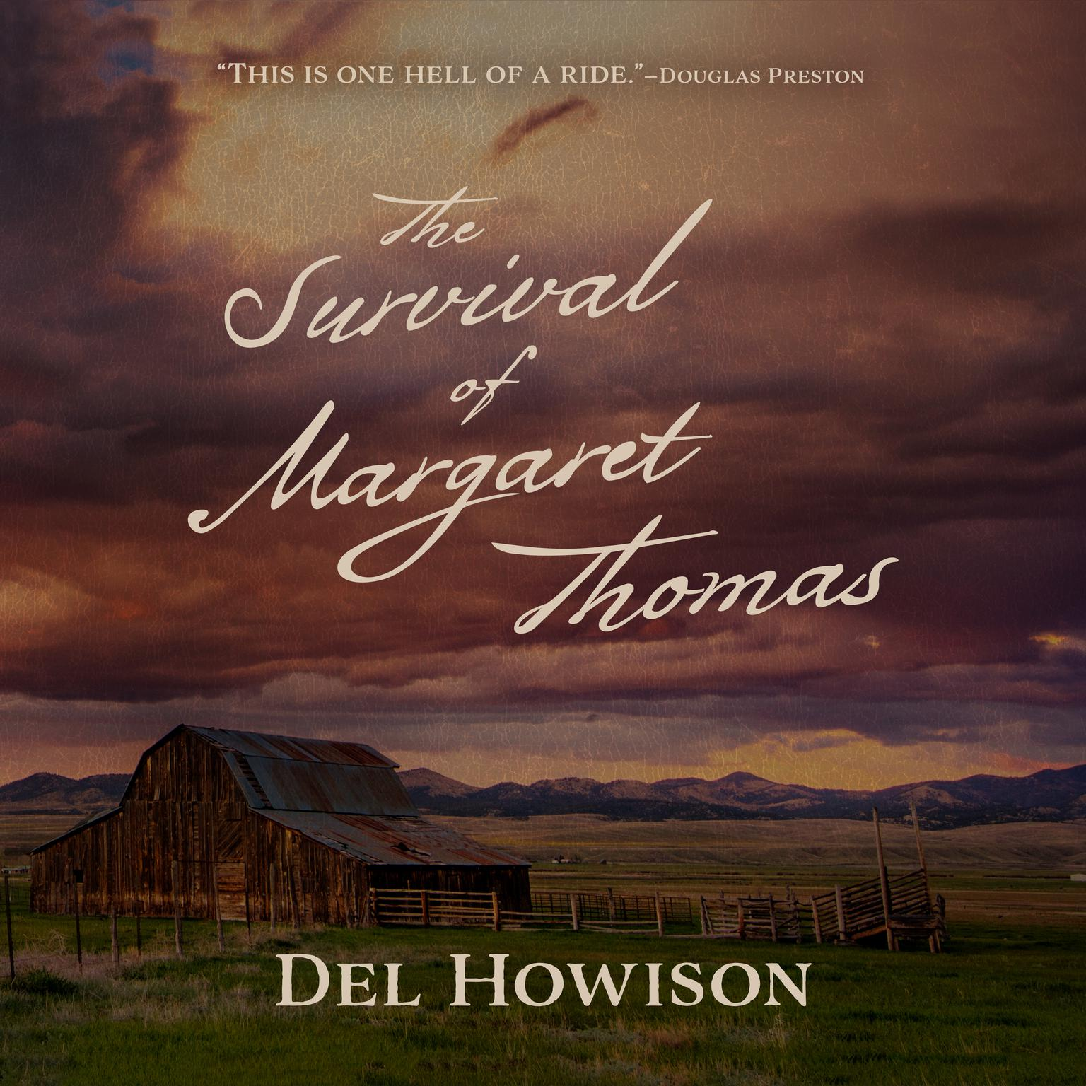 Printable The Survival of Margaret Thomas Audiobook Cover Art