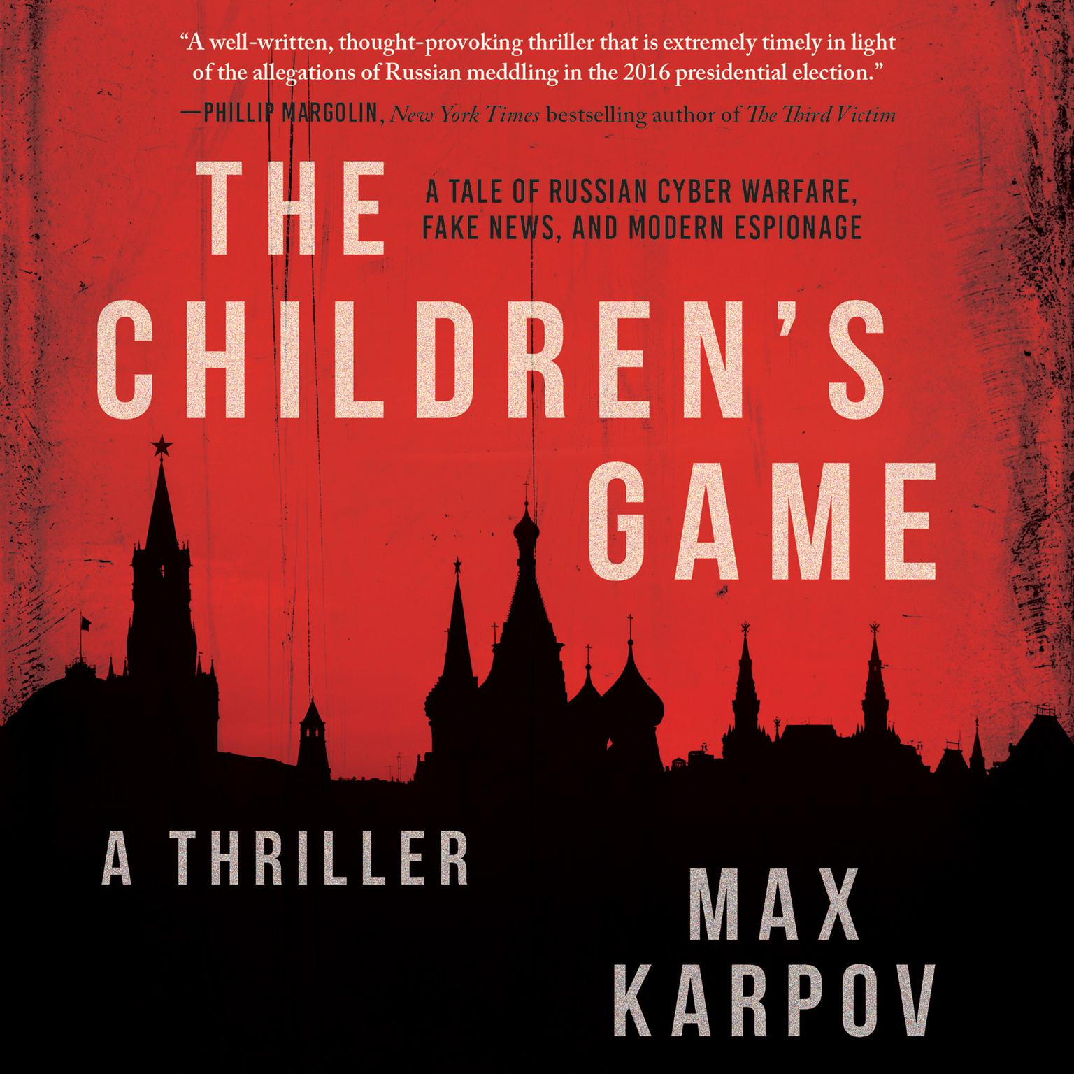 Printable The Children's Game: A Thriller Audiobook Cover Art