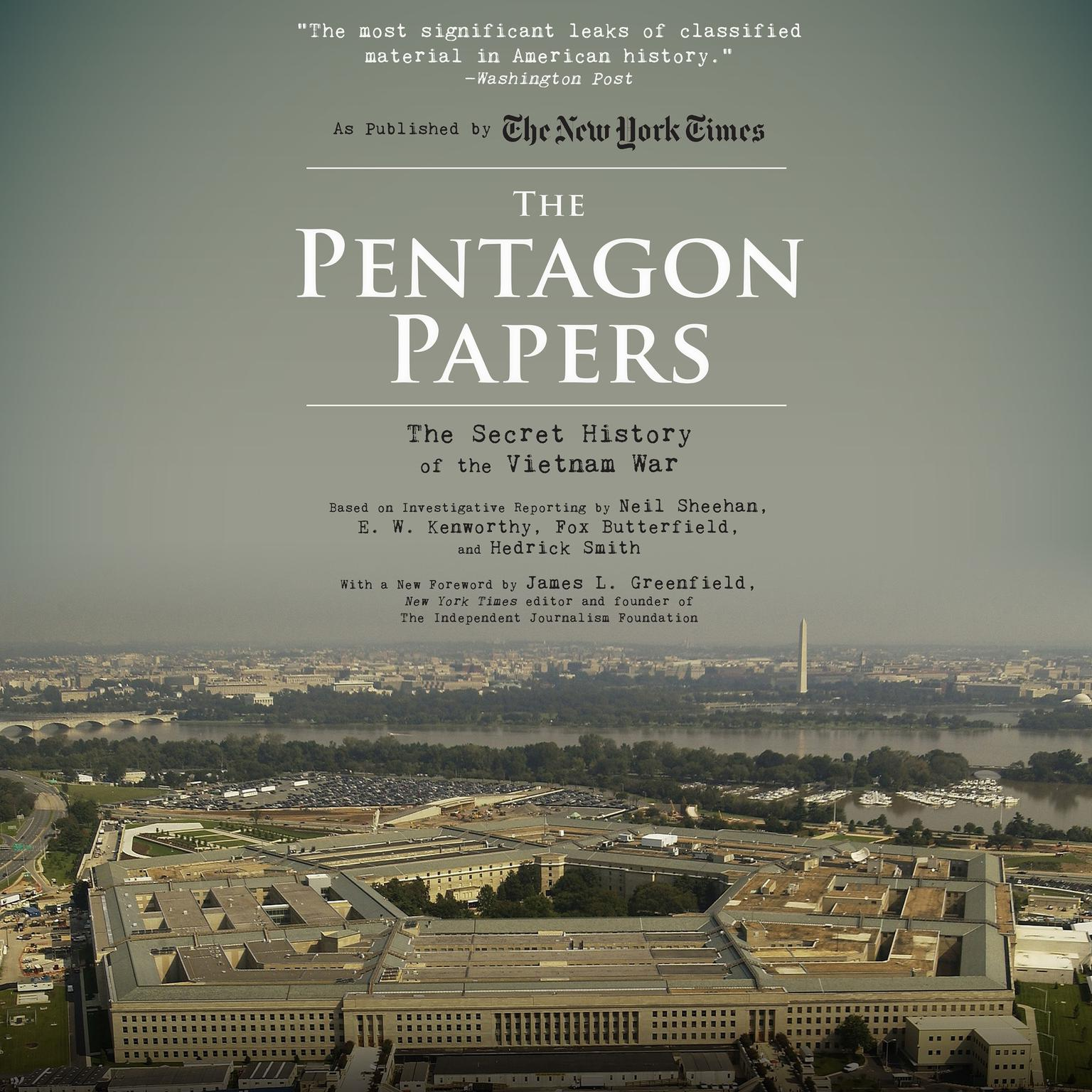 Printable The Pentagon Papers: The Secret History of the Vietnam War Audiobook Cover Art