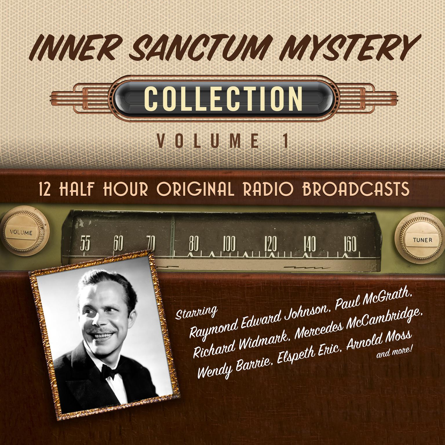 Printable Inner Sanctum Mystery, Collection 1 Audiobook Cover Art
