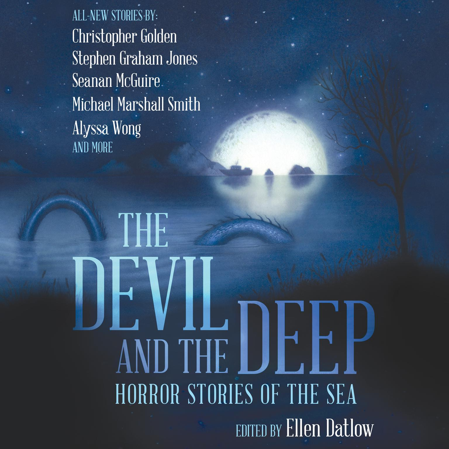 Printable Devil and the Deep: Horror Stories of the Sea Audiobook Cover Art