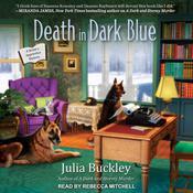 Death in Dark Blue Audiobook, by Julia Buckley
