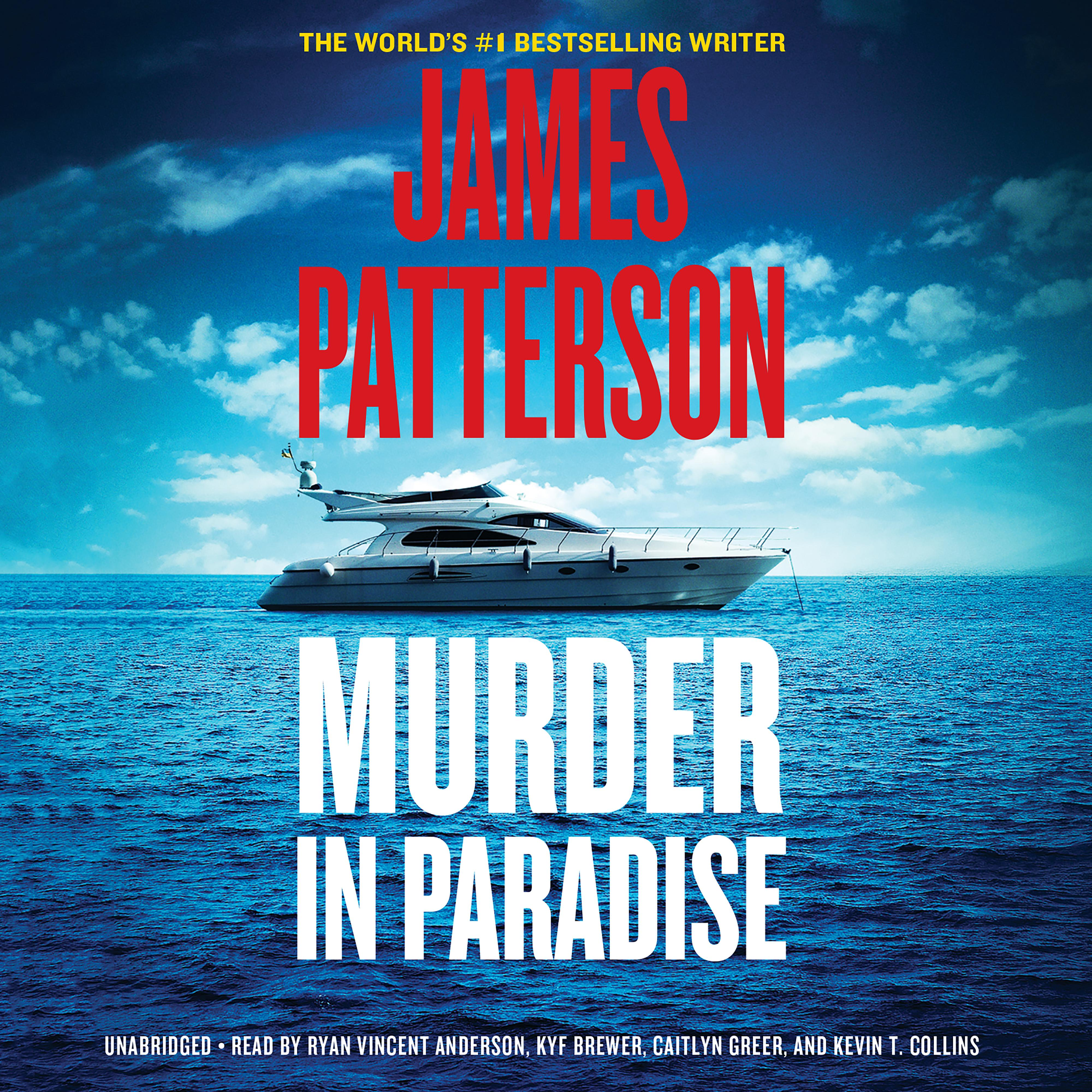 Printable Murder in Paradise Audiobook Cover Art