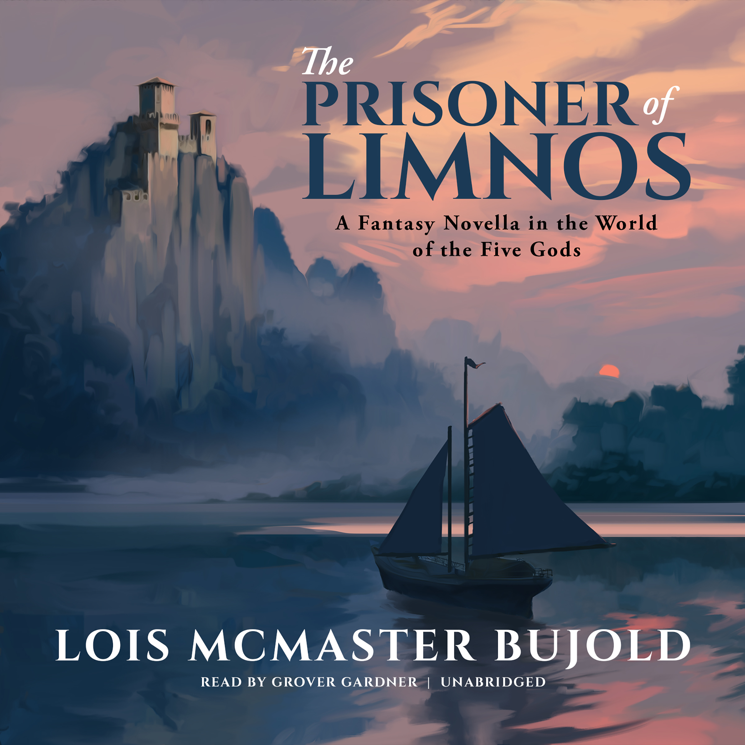 Printable The Prisoner of Limnos: A Fantasy Novella in the World of the Five Gods Audiobook Cover Art