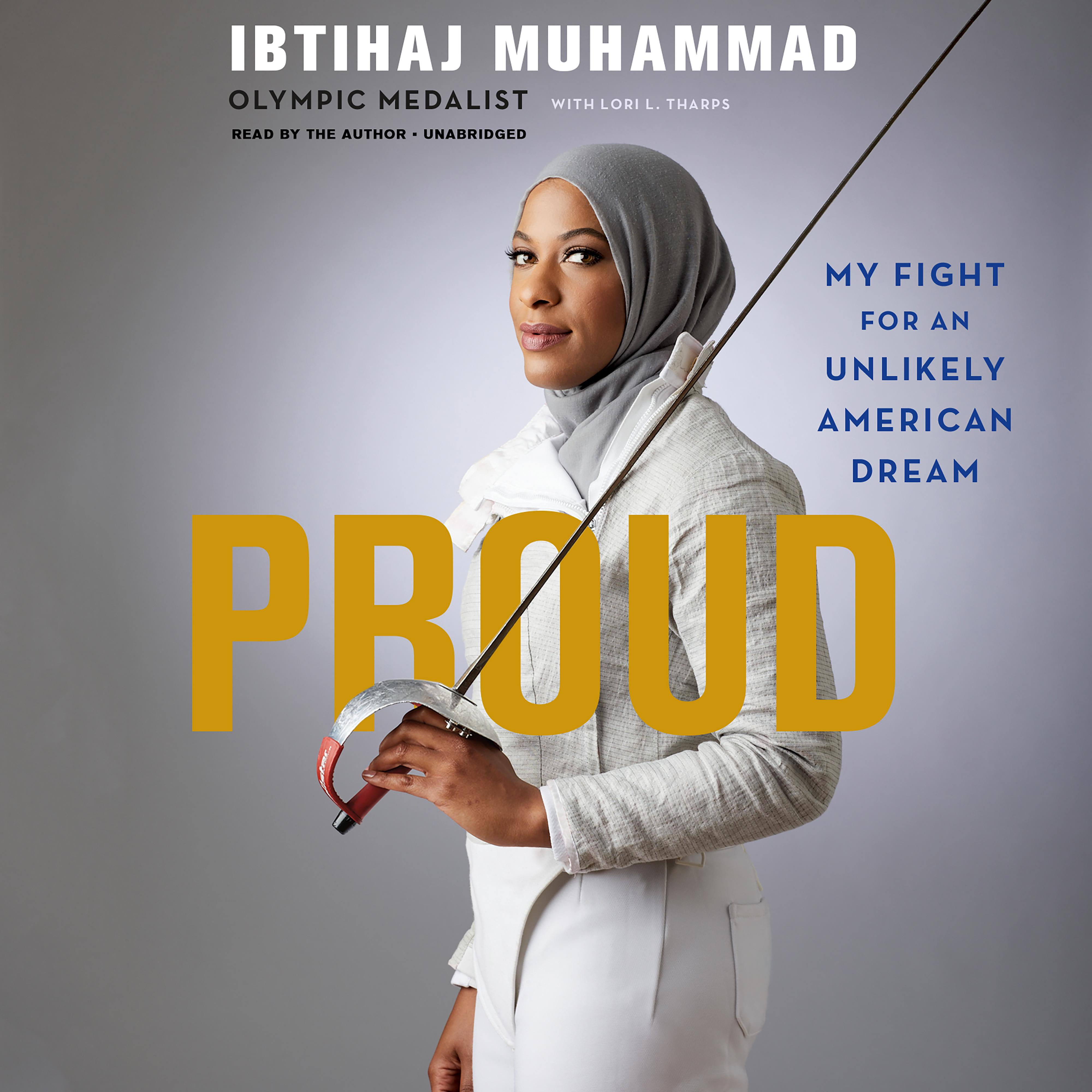 Printable Proud: My Fight for an Unlikely American Dream Audiobook Cover Art
