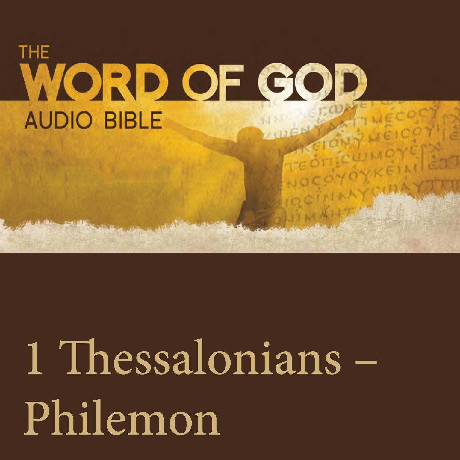 Printable The Word of God: 1 & 2 Thessalonians, 1 & 2 Timothy, Titus, Philemon Audiobook Cover Art