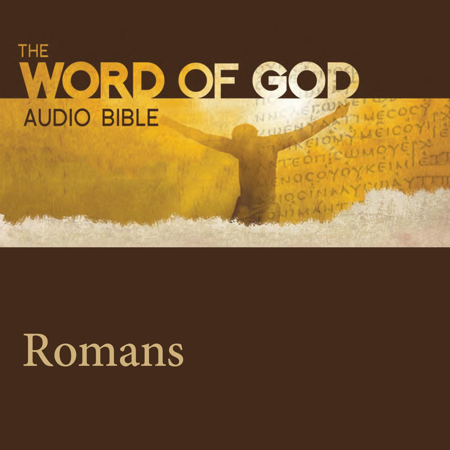 Printable The Word of God: Romans Audiobook Cover Art