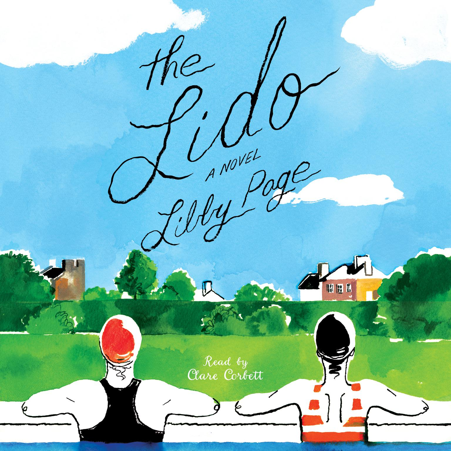 Printable The Lido Audiobook Cover Art