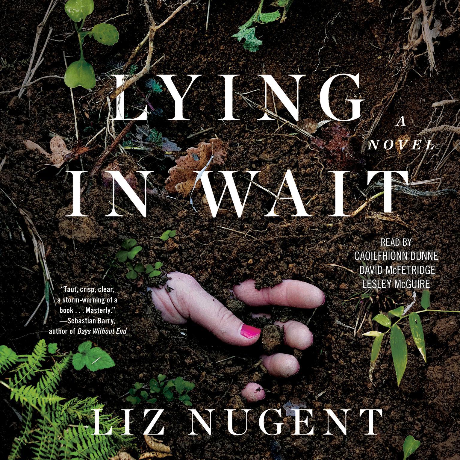 Printable Lying in Wait: A Novel Audiobook Cover Art