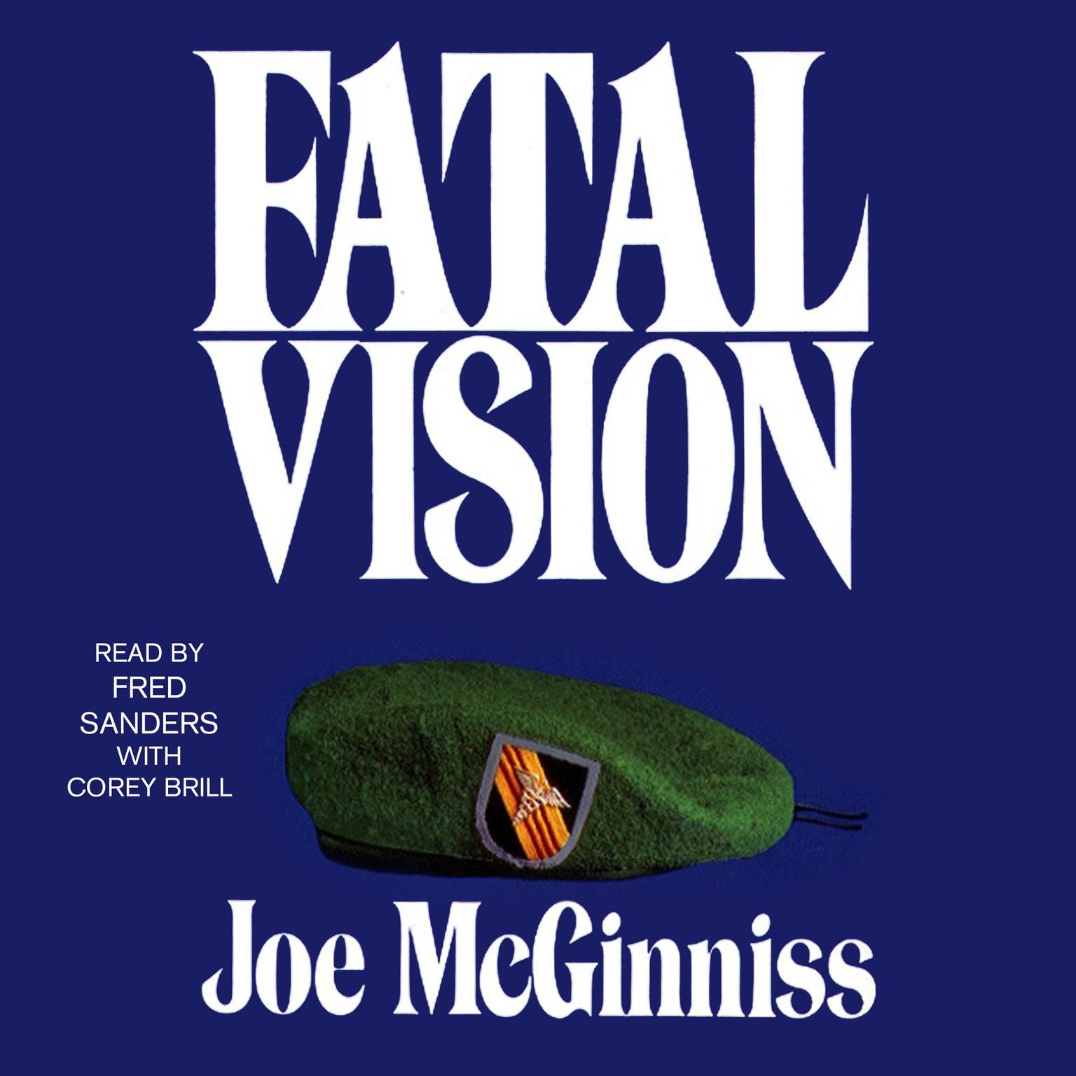 Printable Fatal Vision: A True Crime Classic Audiobook Cover Art