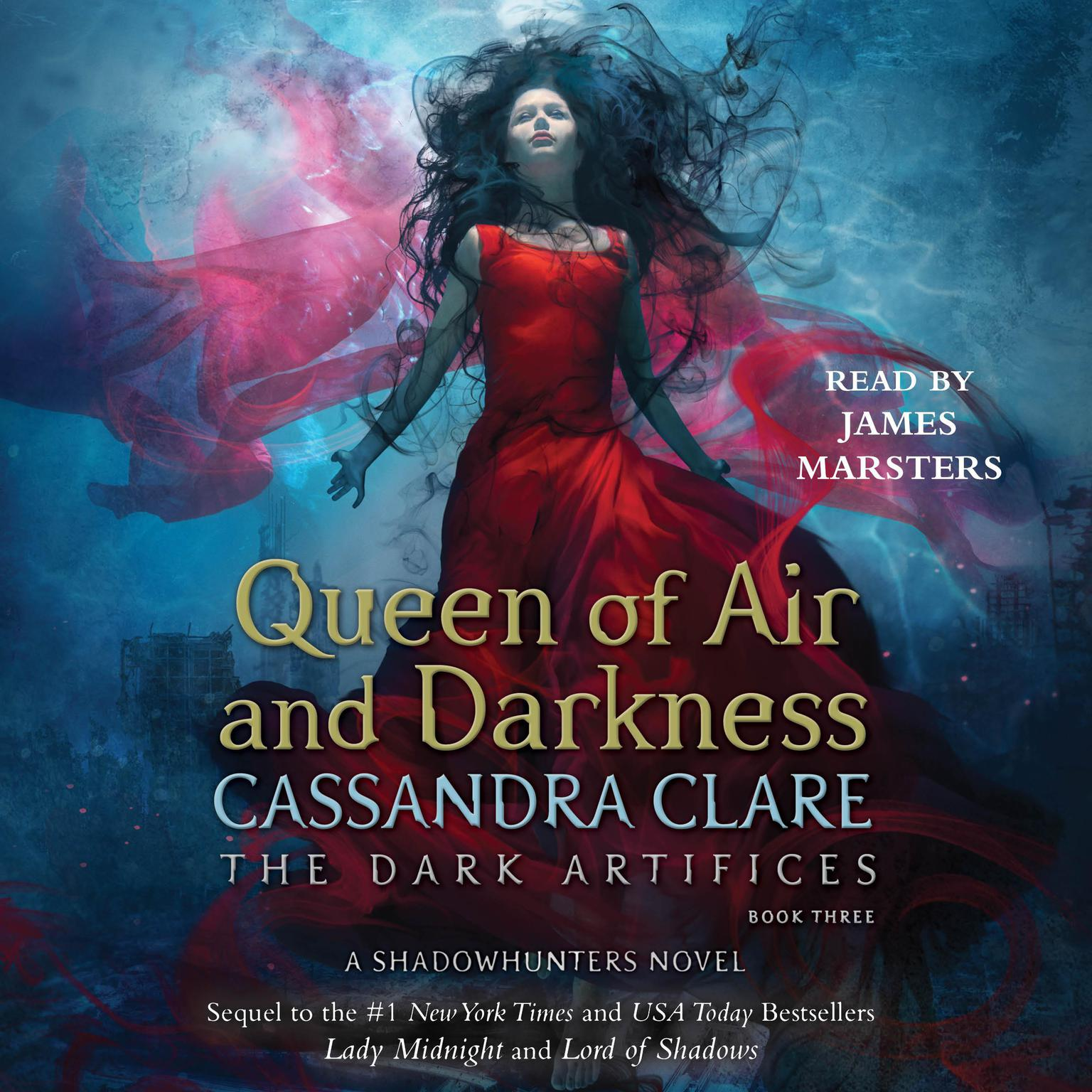 Printable Queen of Air and Darkness Audiobook Cover Art