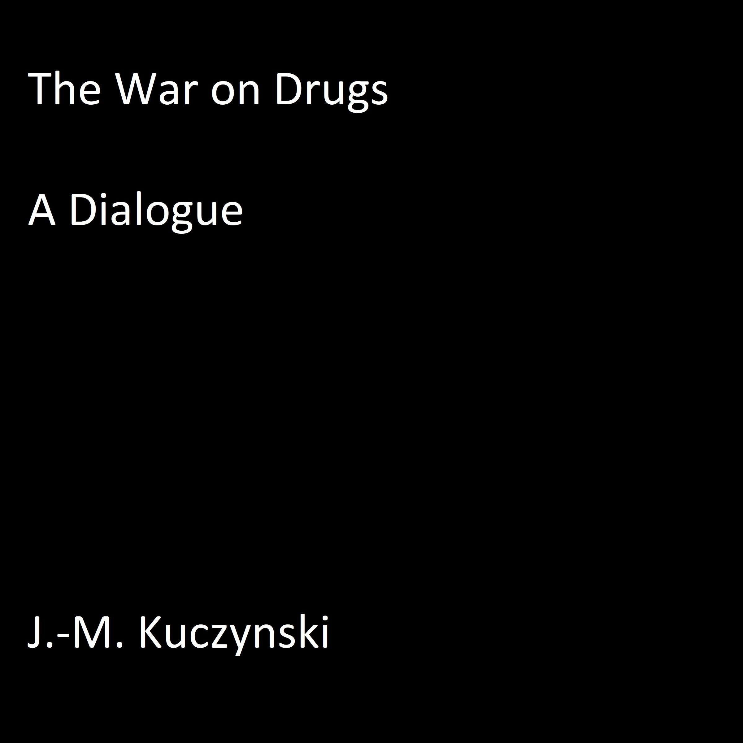 Printable The War on Drugs Audiobook Cover Art